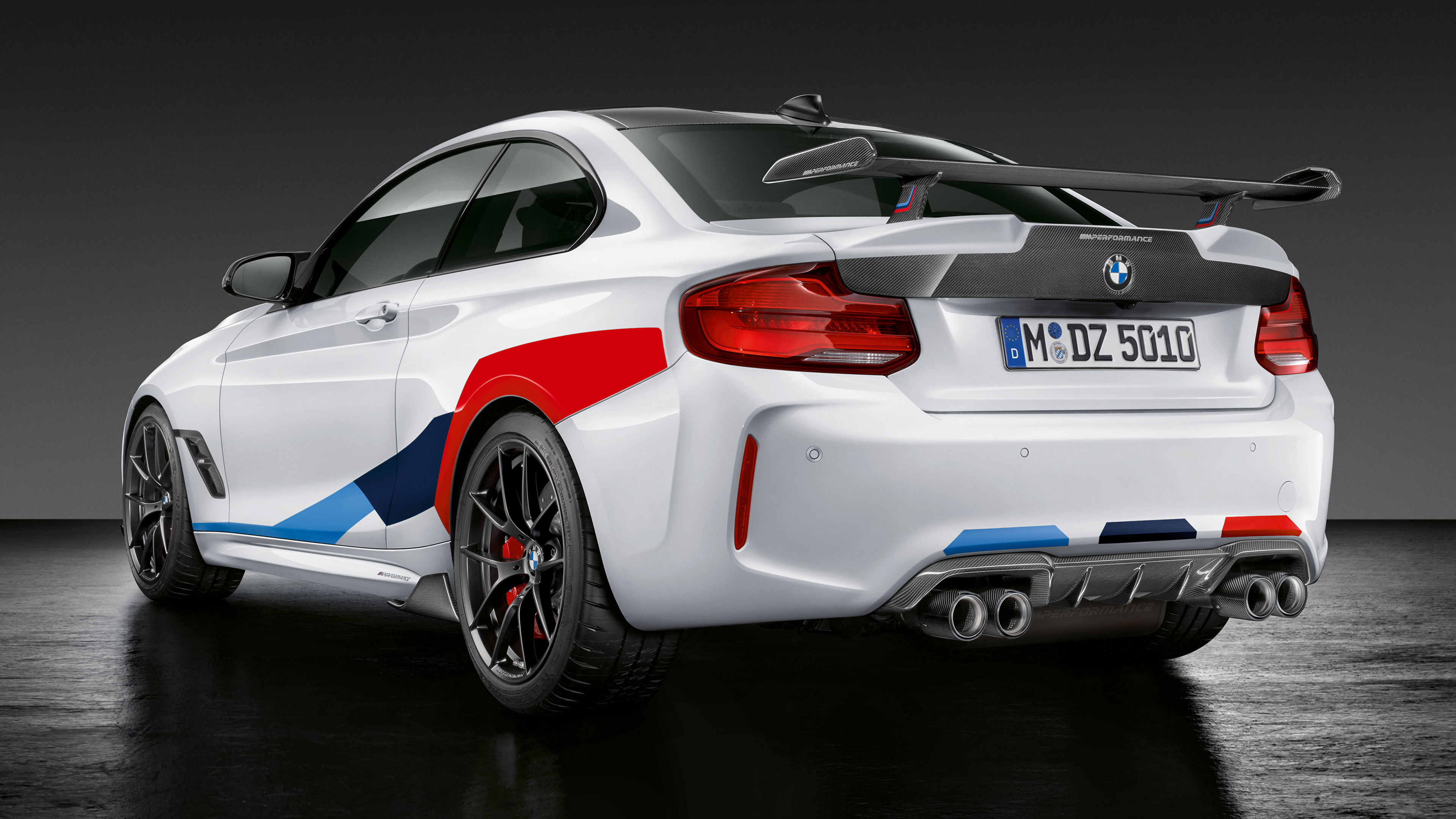 2018 BMW M2 Competition M-Performance Accessories 4K 3 ...