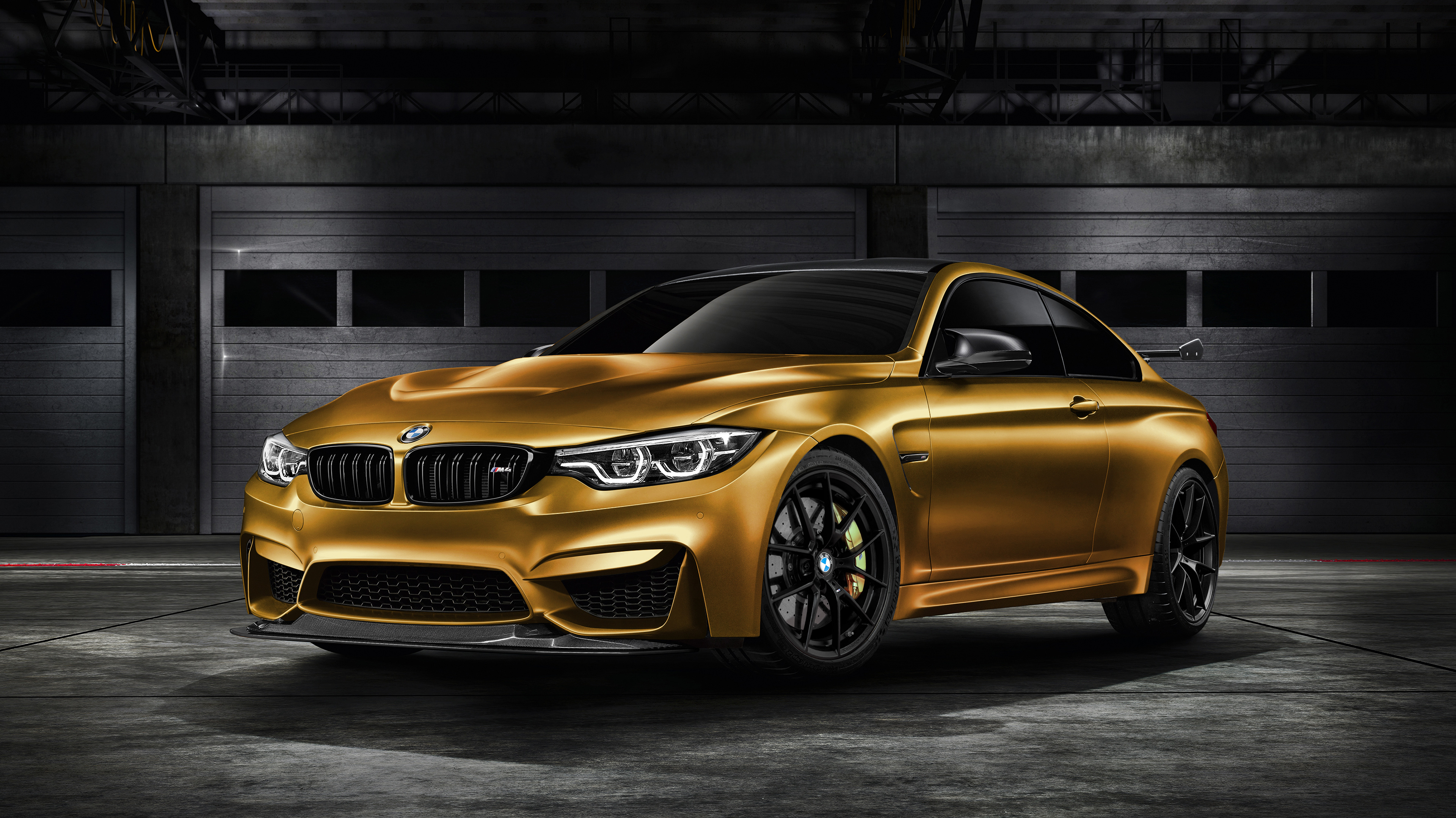 2018 Bmw M4 Gts Sunburstgold 4k Wallpaper Hd Car Wallpapers Id 8078