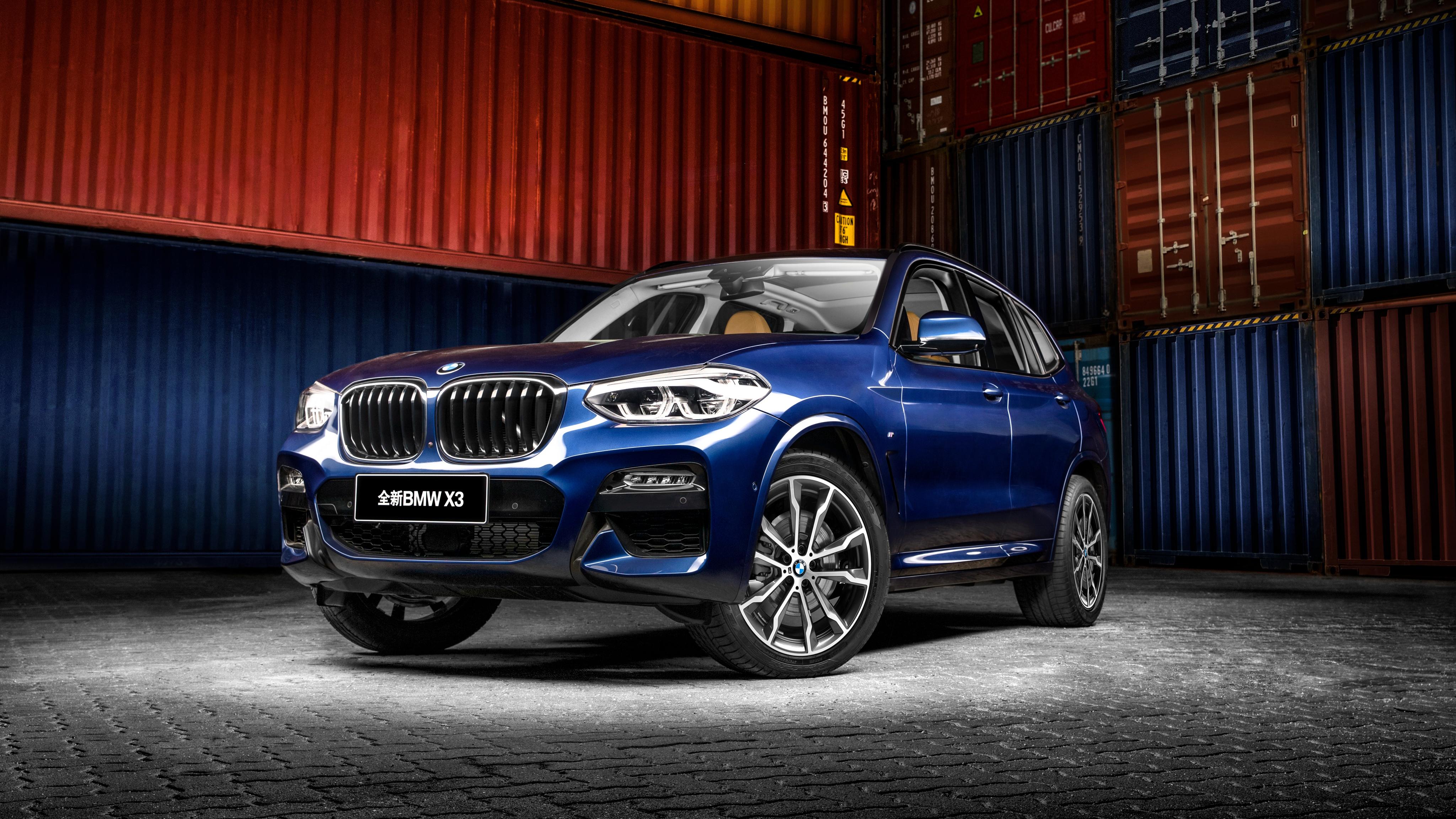 2018 BMW X3 xDrive30i M Sport China 4K 2 Wallpaper | HD ...