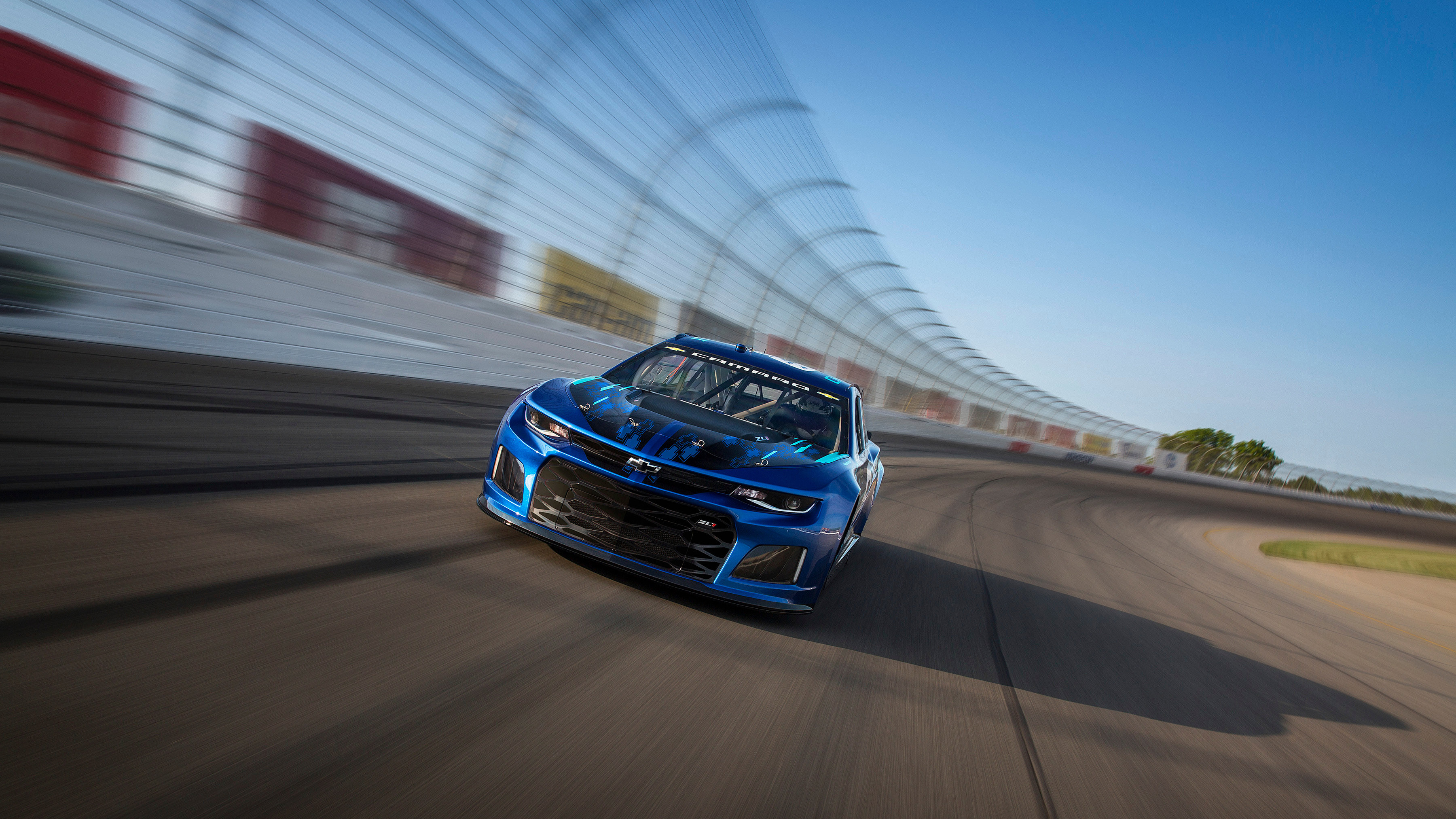 2018 Chevrolet Camaro Zl1 Nascar Race Car 2 Wallpaper Hd