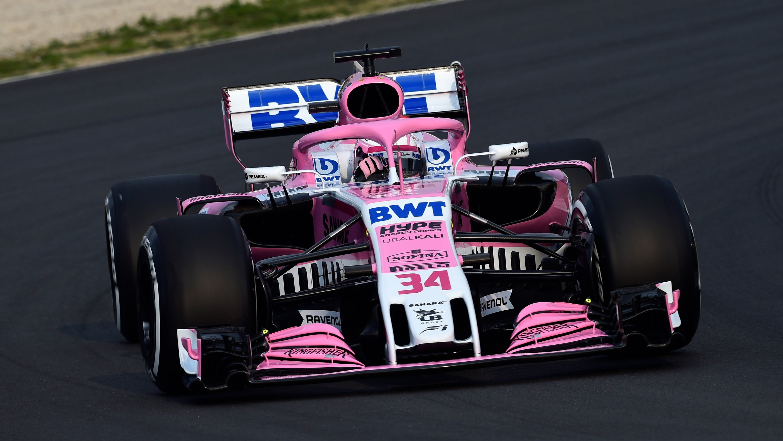 2018 Force India Vjm11 F1 Formula 1 Car Wallpaper Hd Car