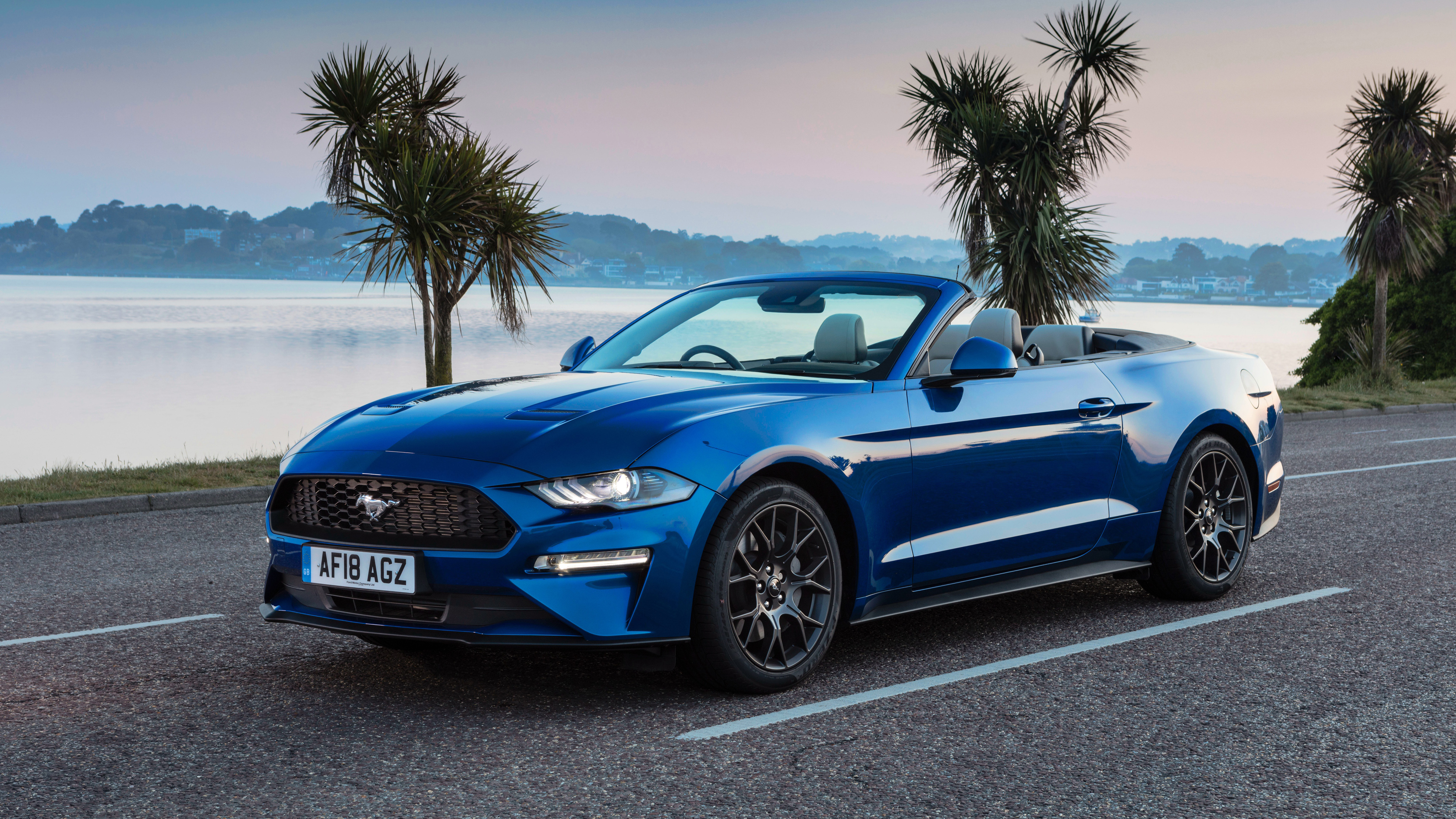 2018 Ford Mustang Ecoboost Convertible 4k Wallpaper Hd Car Wallpapers Id 10420