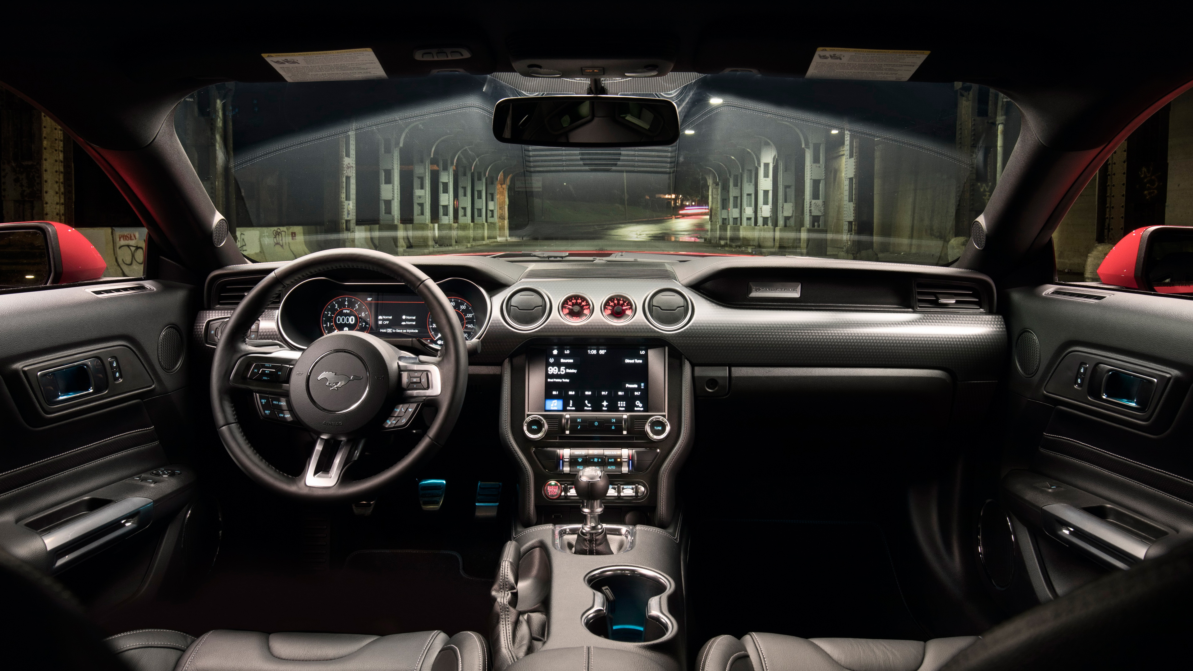 2018 Ford Mustang GT Level 2 Performance Pack 4K Interior Wallpaper | HD Car Wallpapers | ID #8917