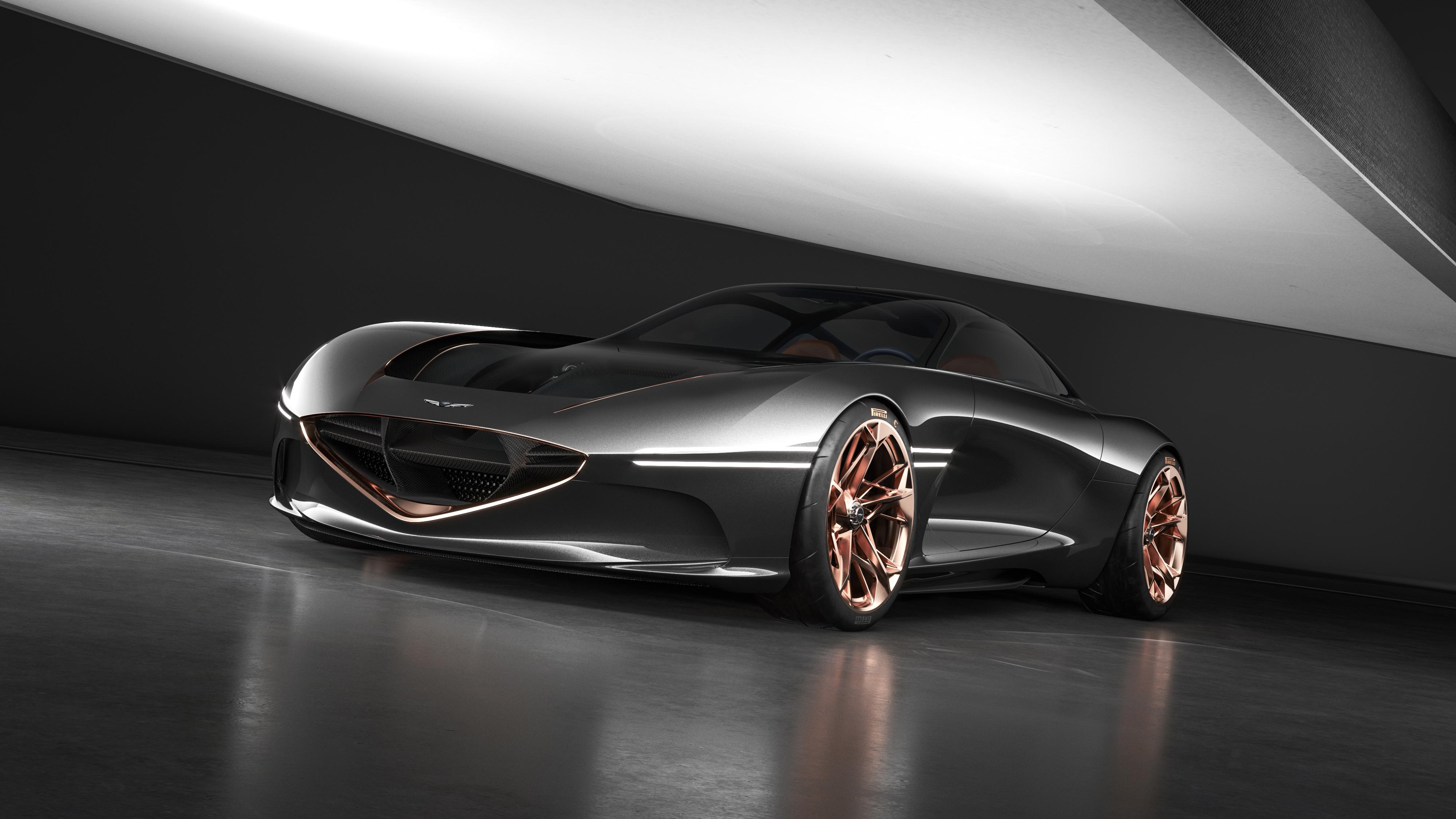 2018 Genesis Essentia Concept 4K Wallpaper | HD Car ...
