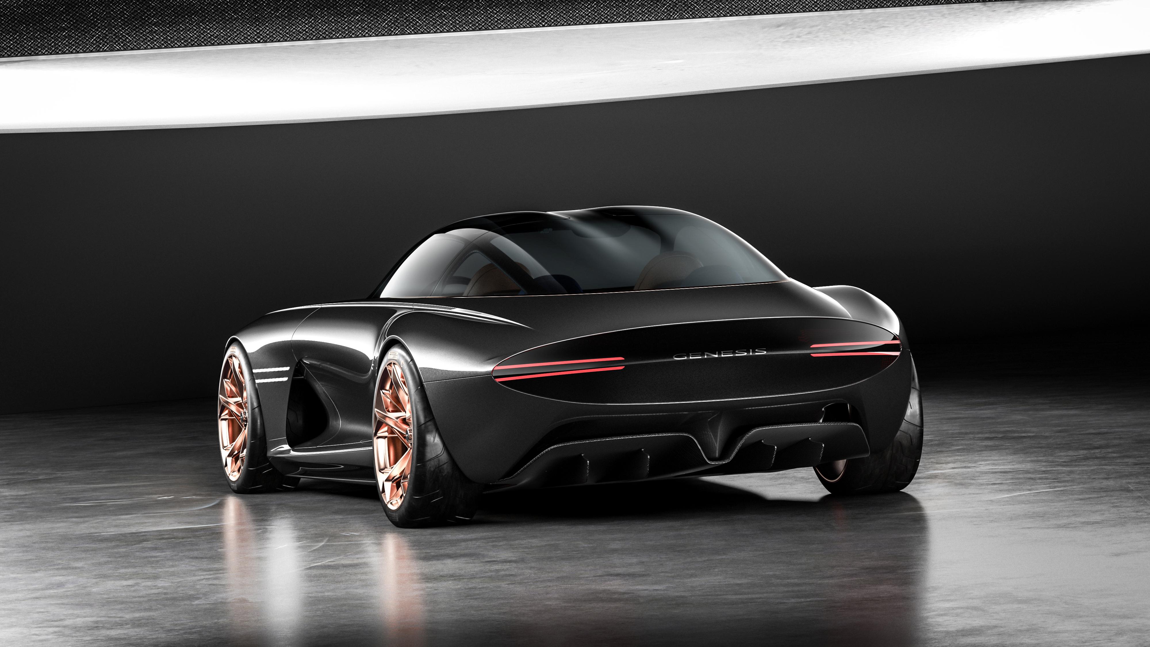 2018 Genesis Essentia Concept 4K 2 Wallpaper   HD Car ...