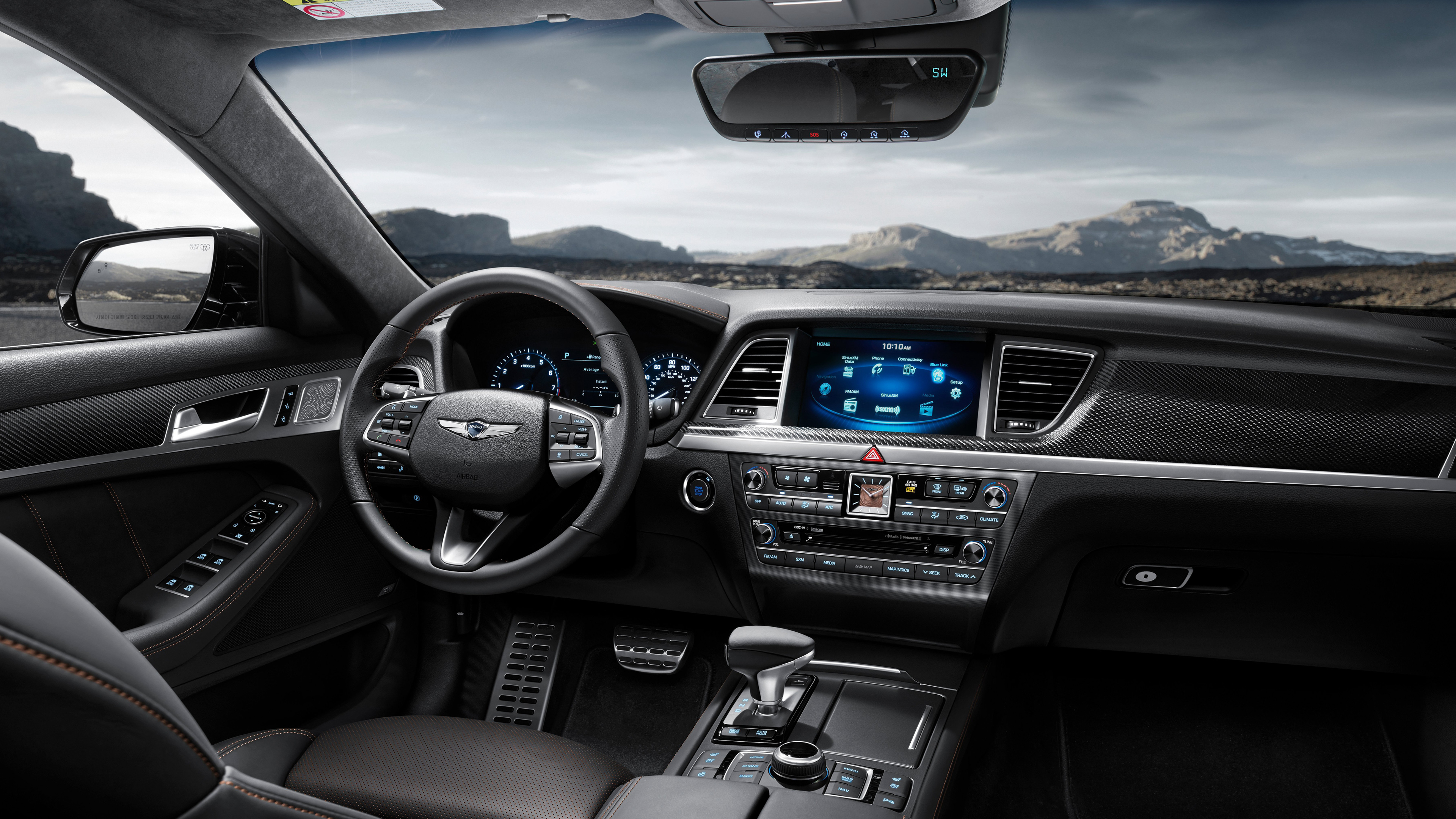 2018 Genesis G80 Sport Interior Wallpaper Hd Car