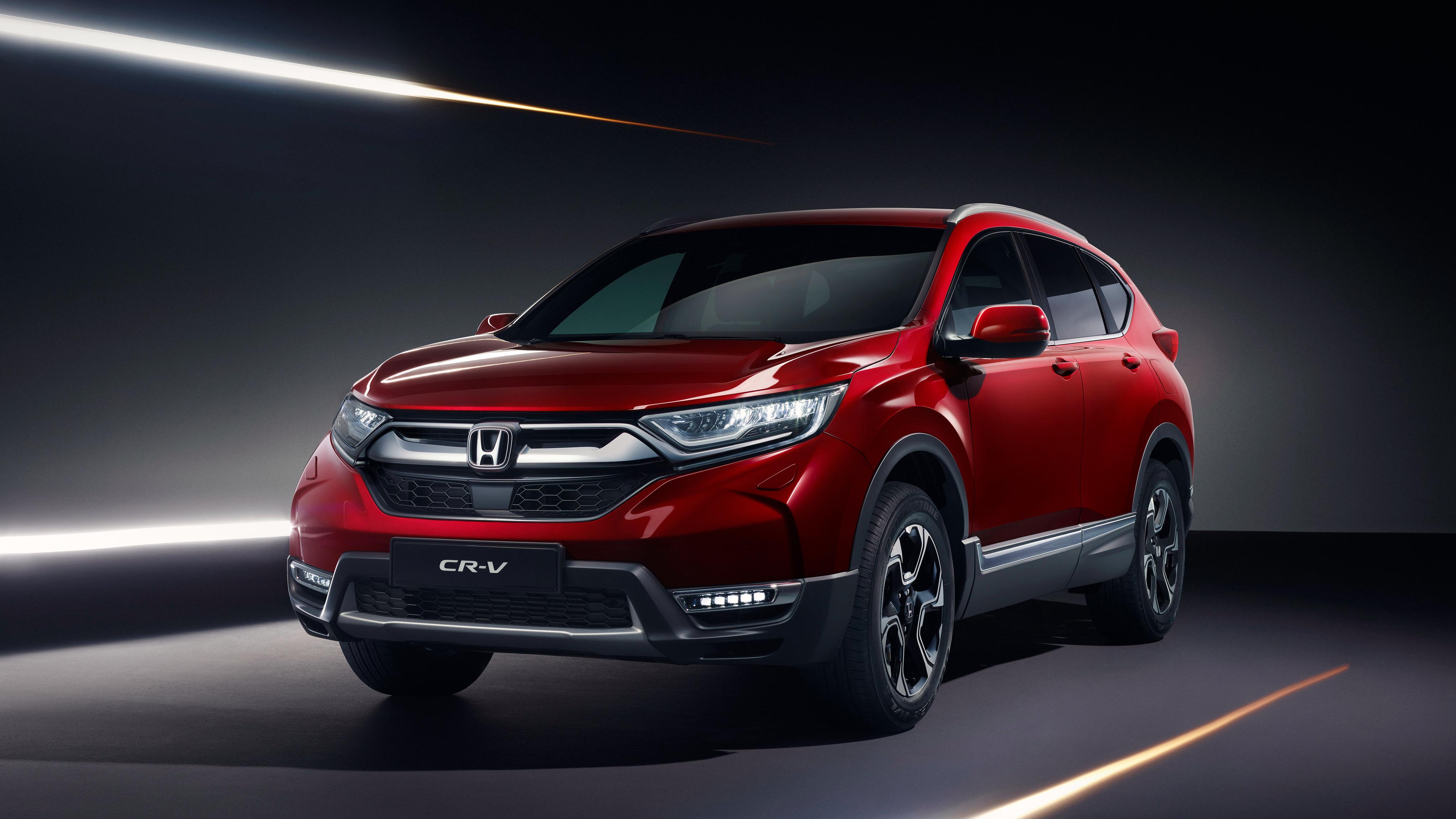 2018 Honda CR V 4K Wallpaper