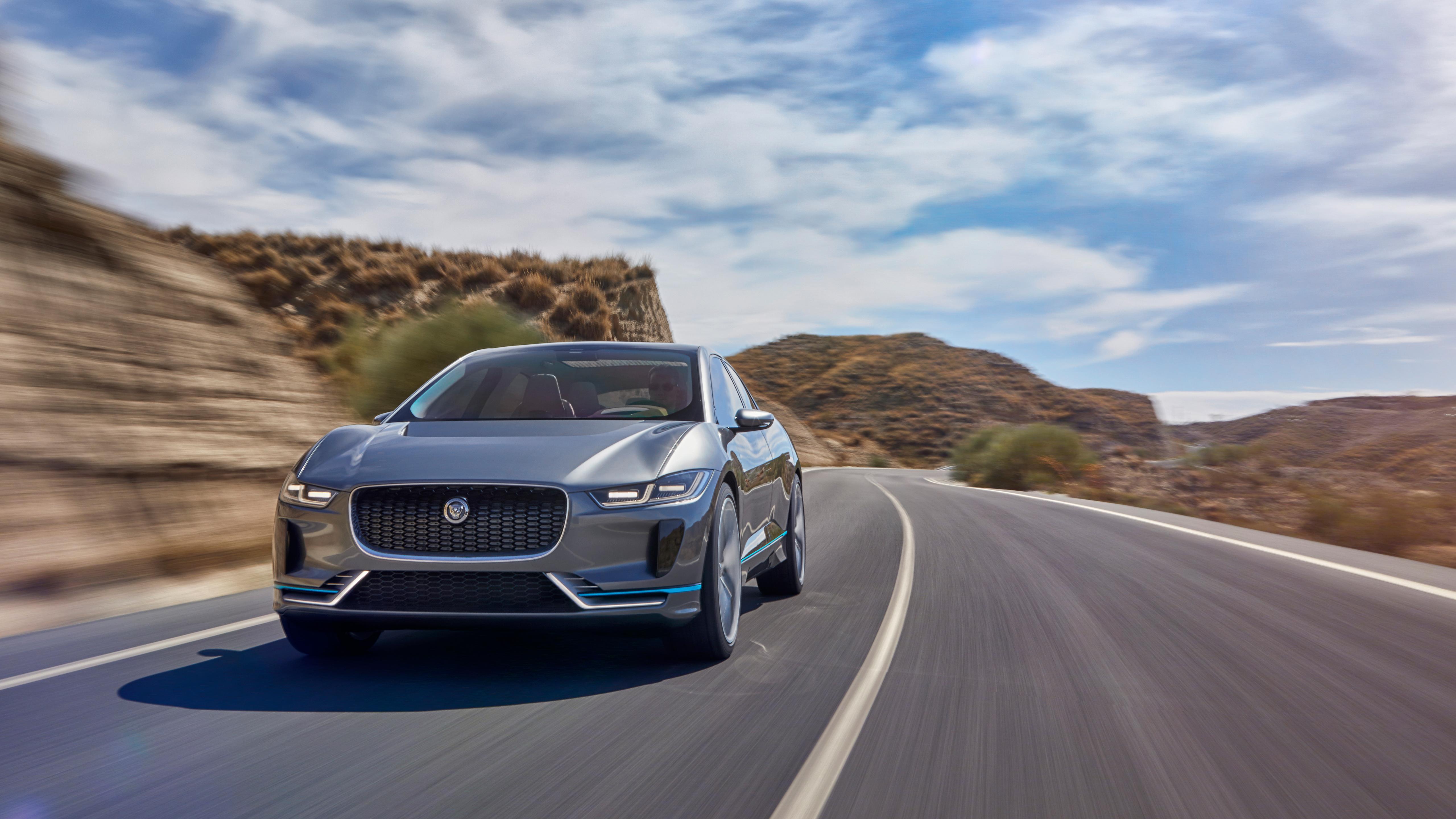 2018 Jaguar I Pace Electric Suv 5k Wallpaper Hd Car Wallpapers