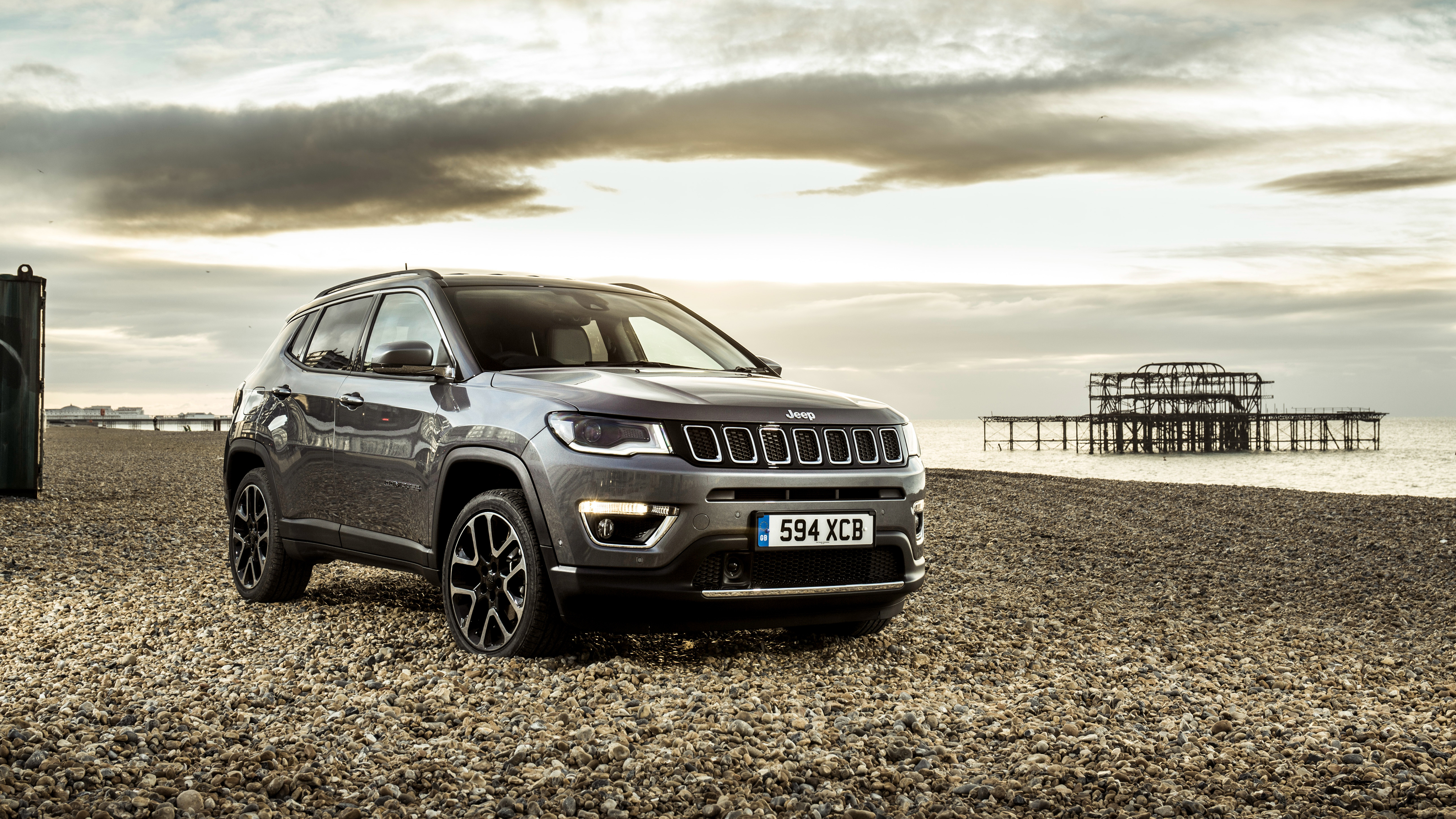 2018 jeep compass limited wallpaper hd car wallpapers id 9135. Black Bedroom Furniture Sets. Home Design Ideas