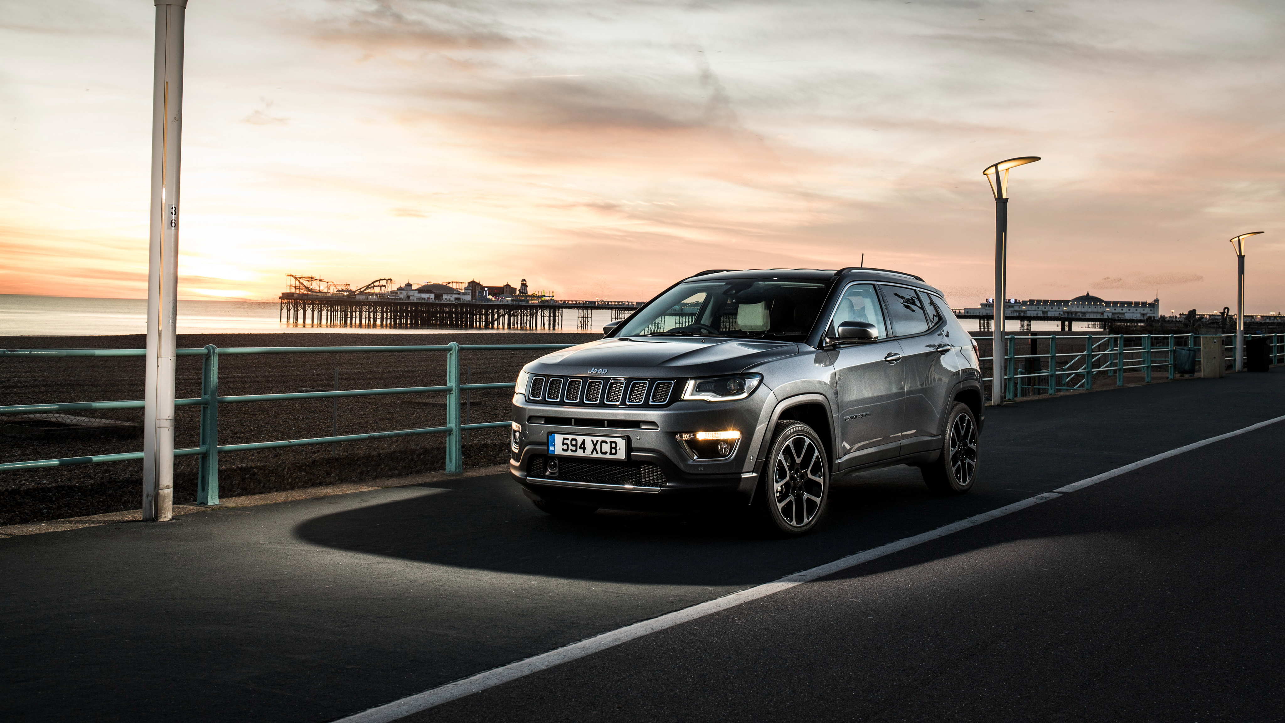 2018 Jeep Compass Limited 4K Wallpaper