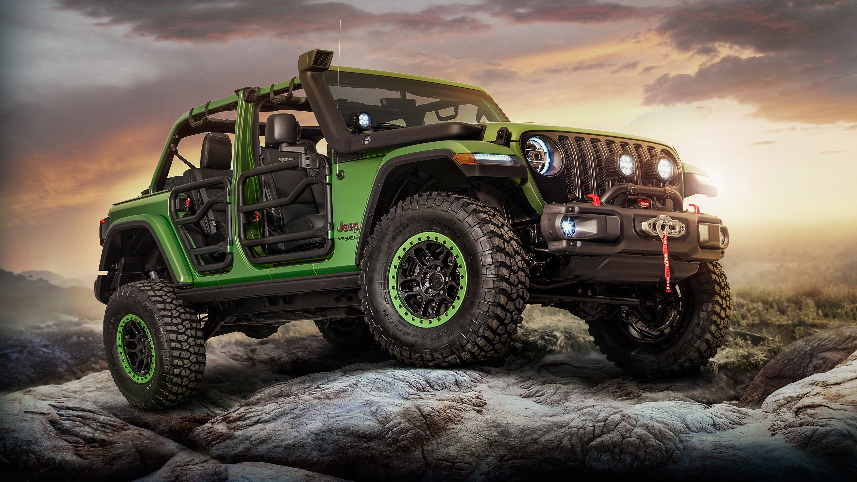 2018 Jeep Wrangler Unlimited Rubicon Moparized Wallpaper