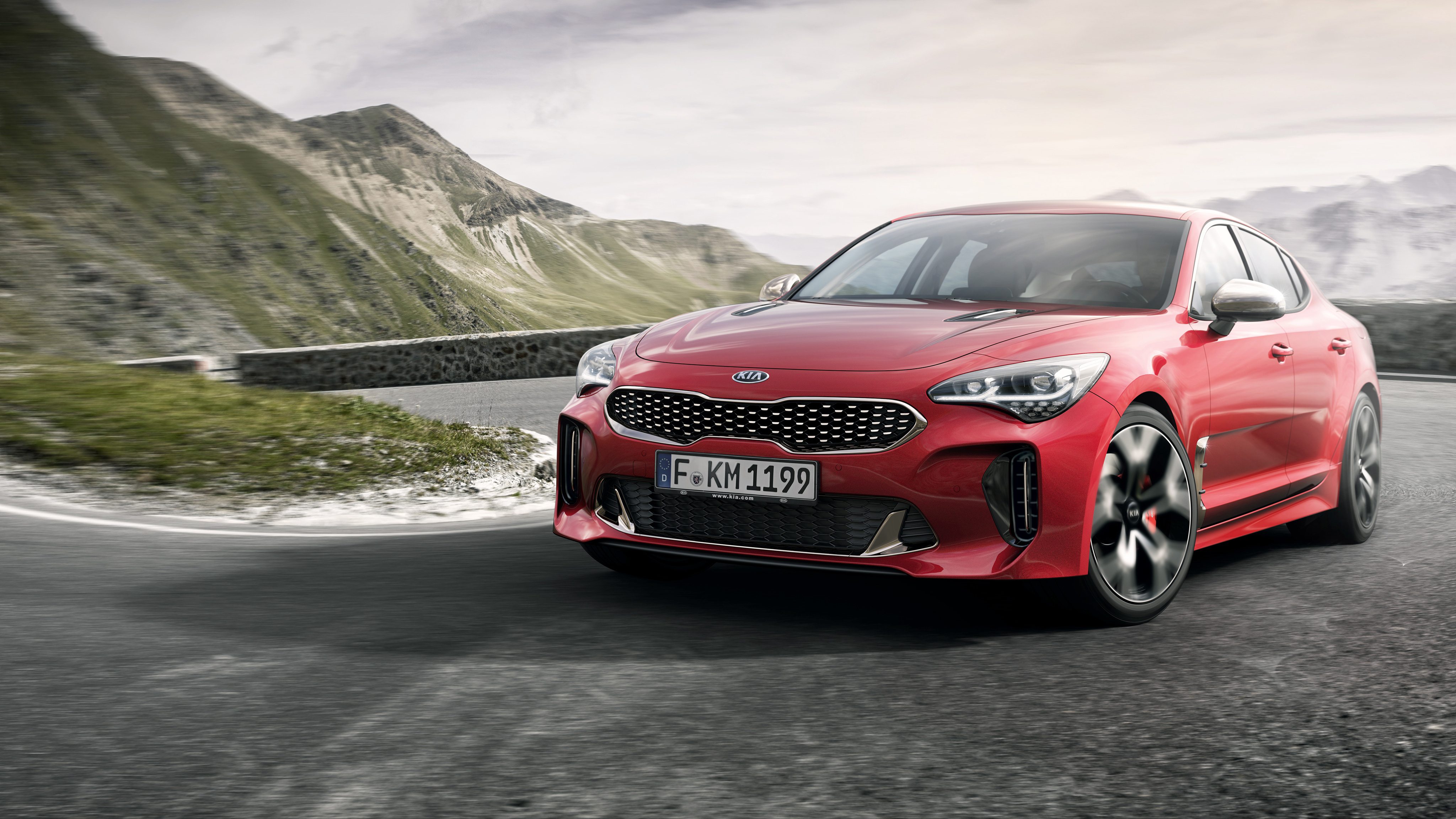 2018 Kia Stinger Gt 4k Wallpaper Hd Car Wallpapers Id 7604