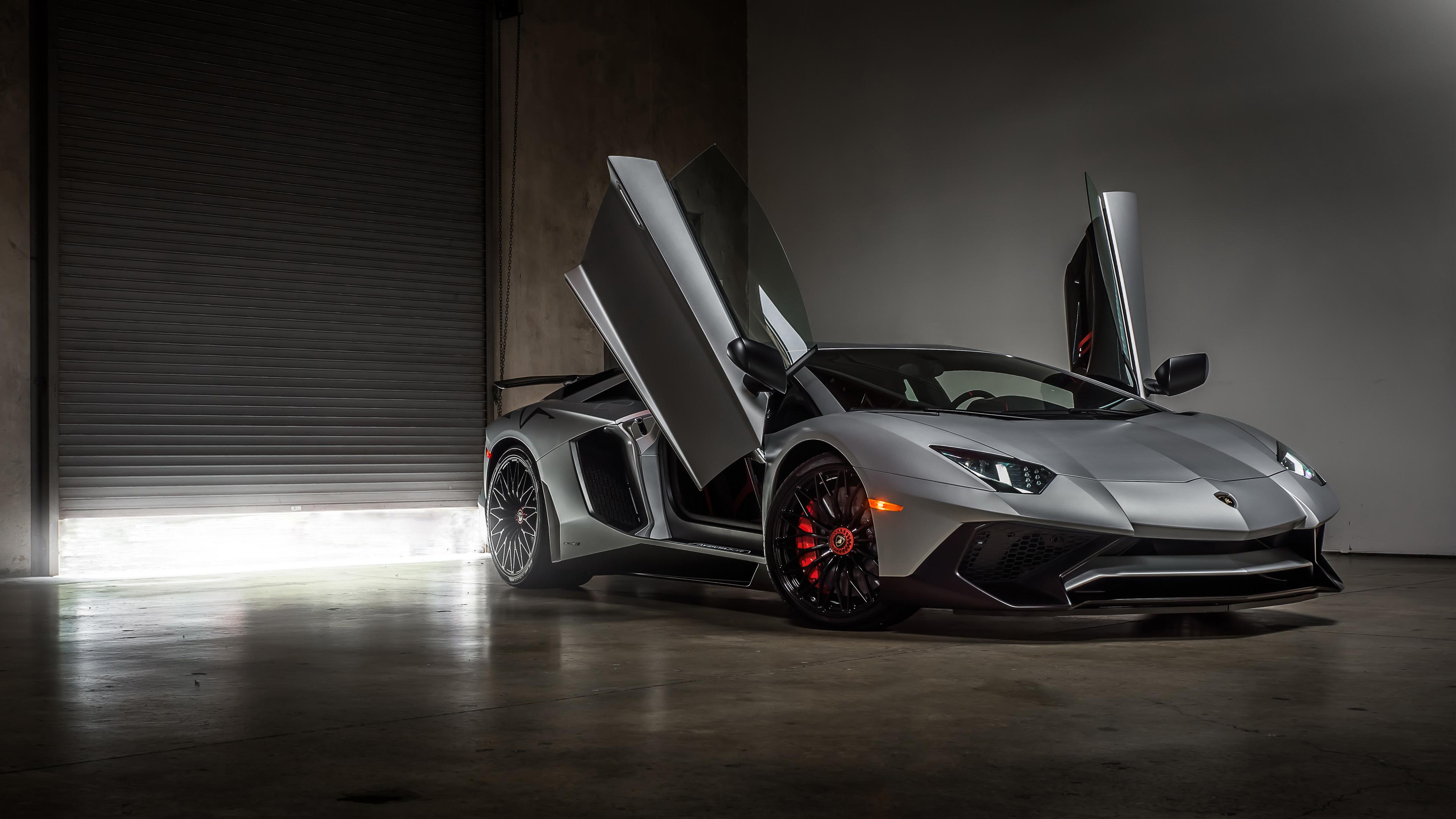 2018 Lamborghini Aventador LP 750 SV 4K