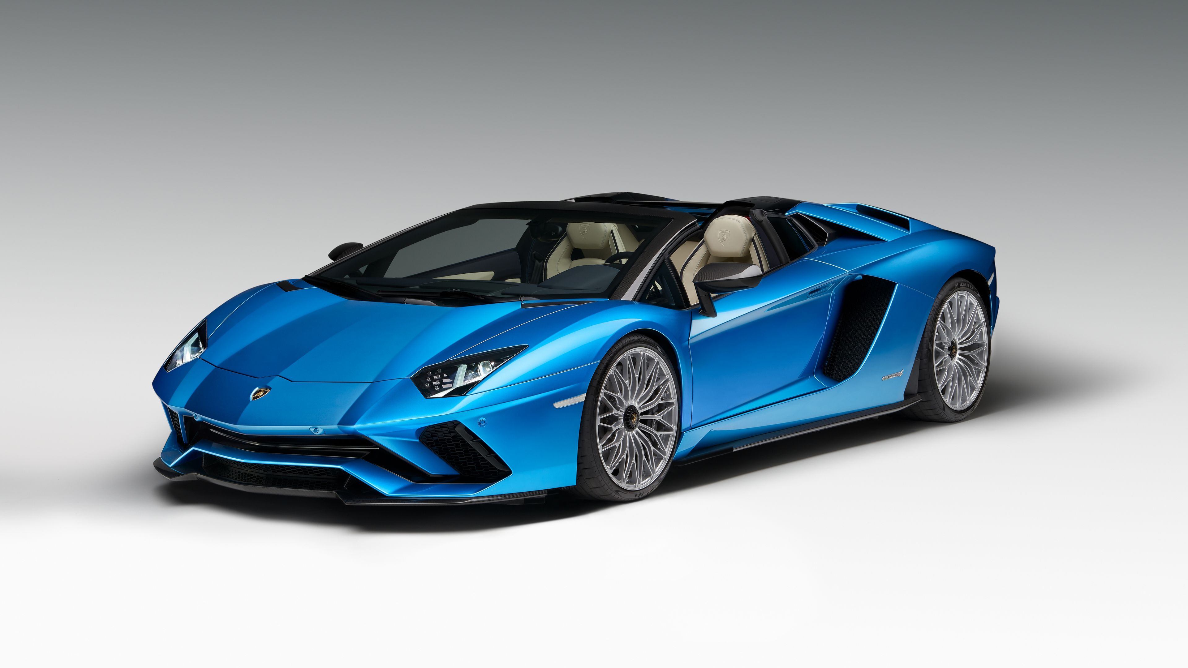 2018 lamborghini aventador s roadster 4k wallpaper | hd car