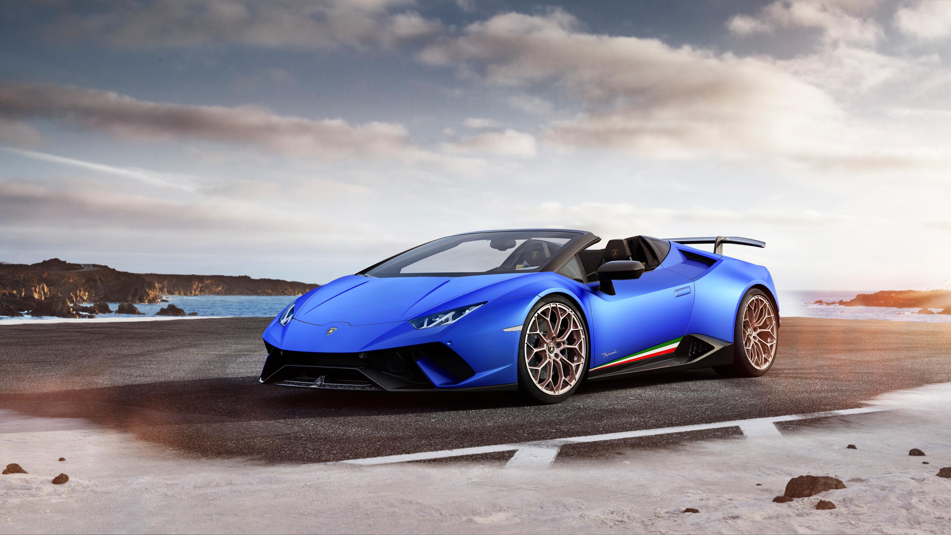 2018 Lamborghini Huracan Perfomante Spyder 6 Wallpaper ...