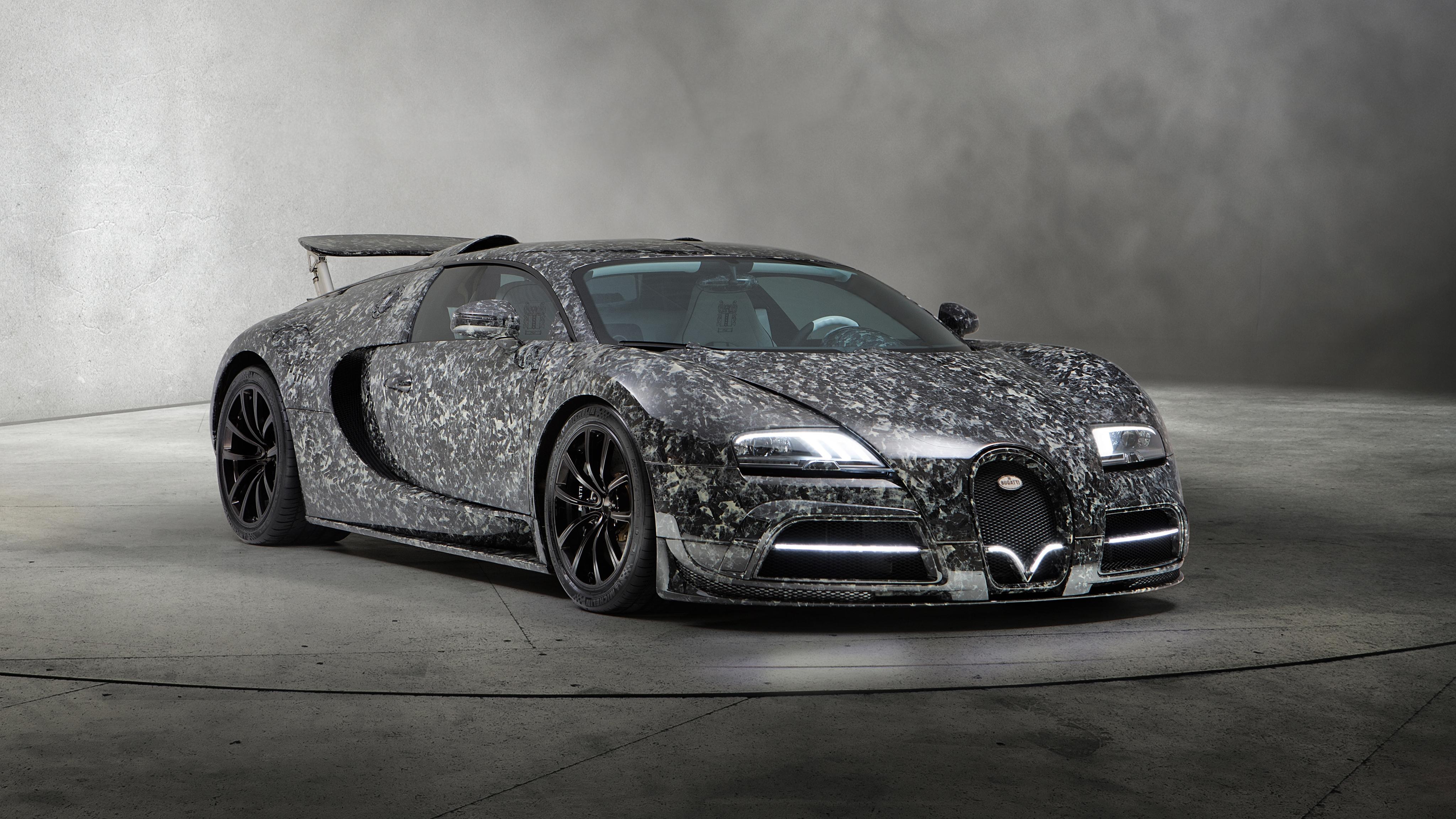 2018 Mansory Bugatti Veyron Vivere Diamond Edition 4k Wallpaper Hd