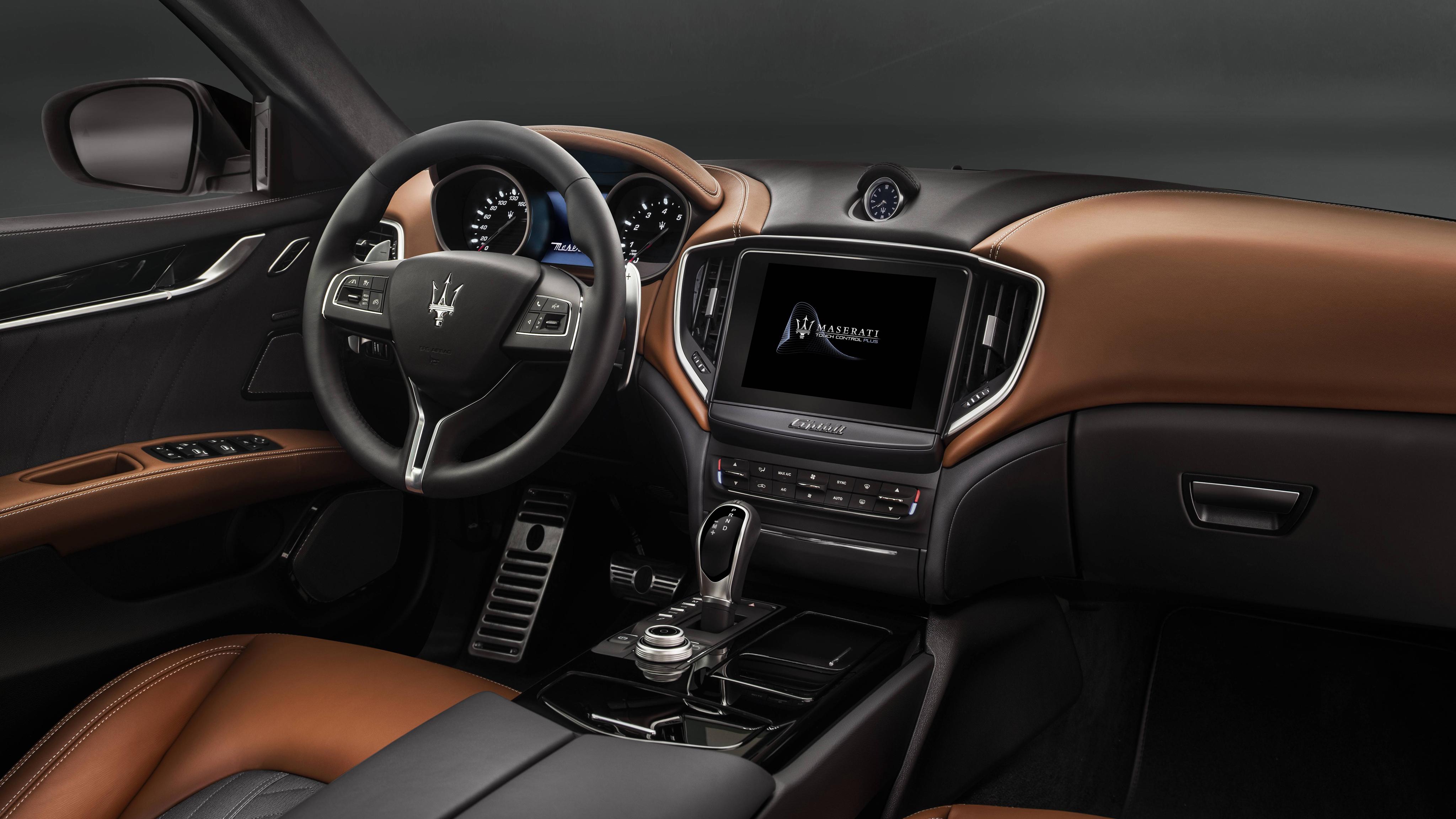 2018 Maserati Ghibli GranLusso Interior Wallpaper | HD Car ...