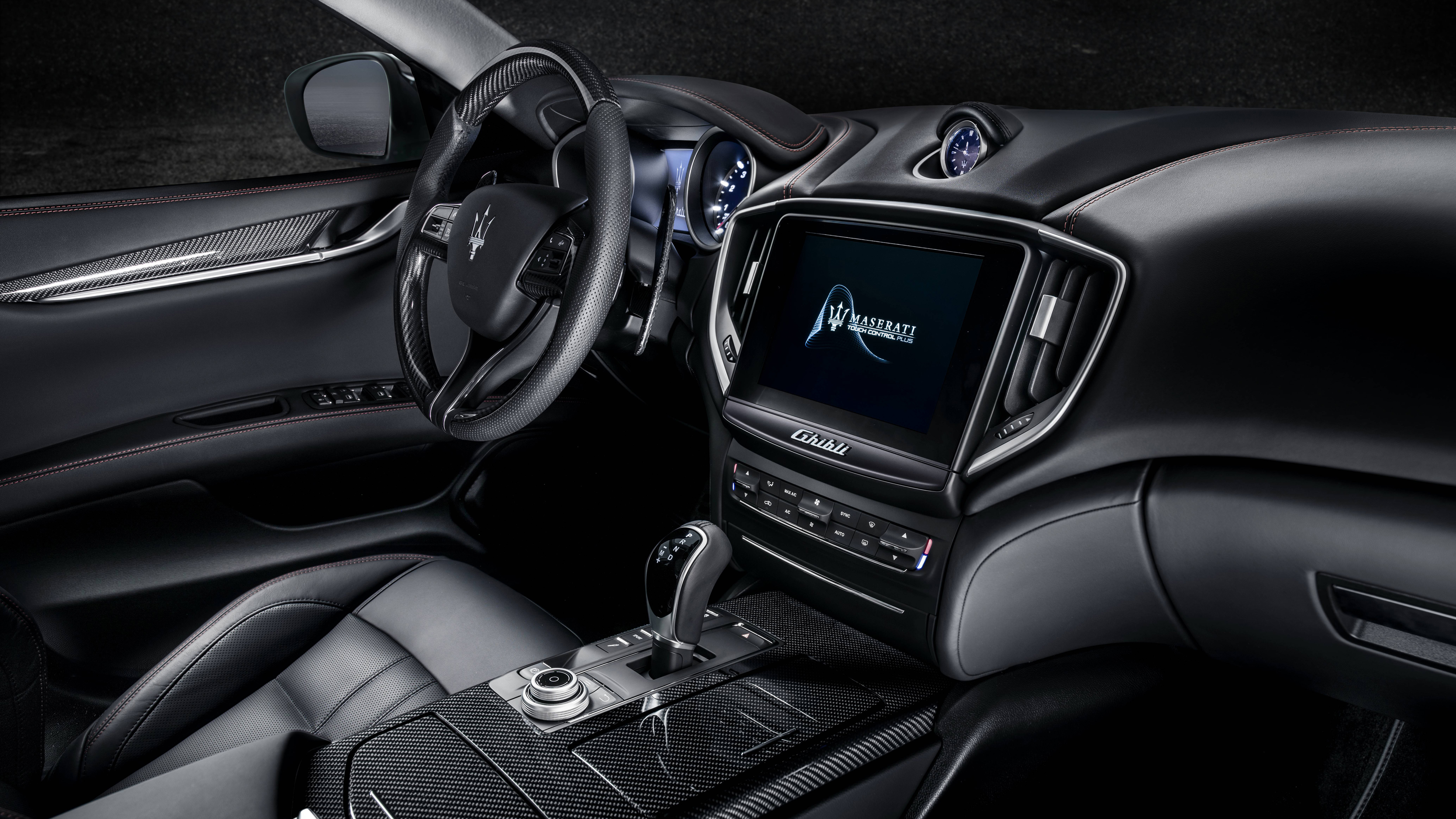 2018 Maserati Ghibli Gransport 4k Interior Wallpaper Hd Car