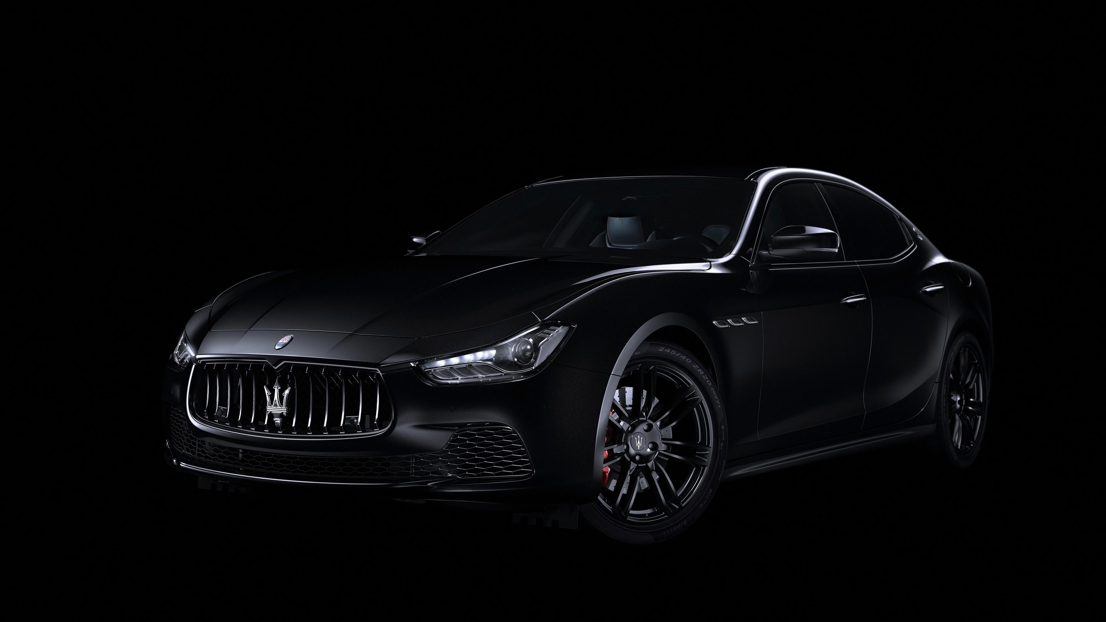 2018 Maserati Ghibli Nerissimo Black Edition 4K Wallpaper ...