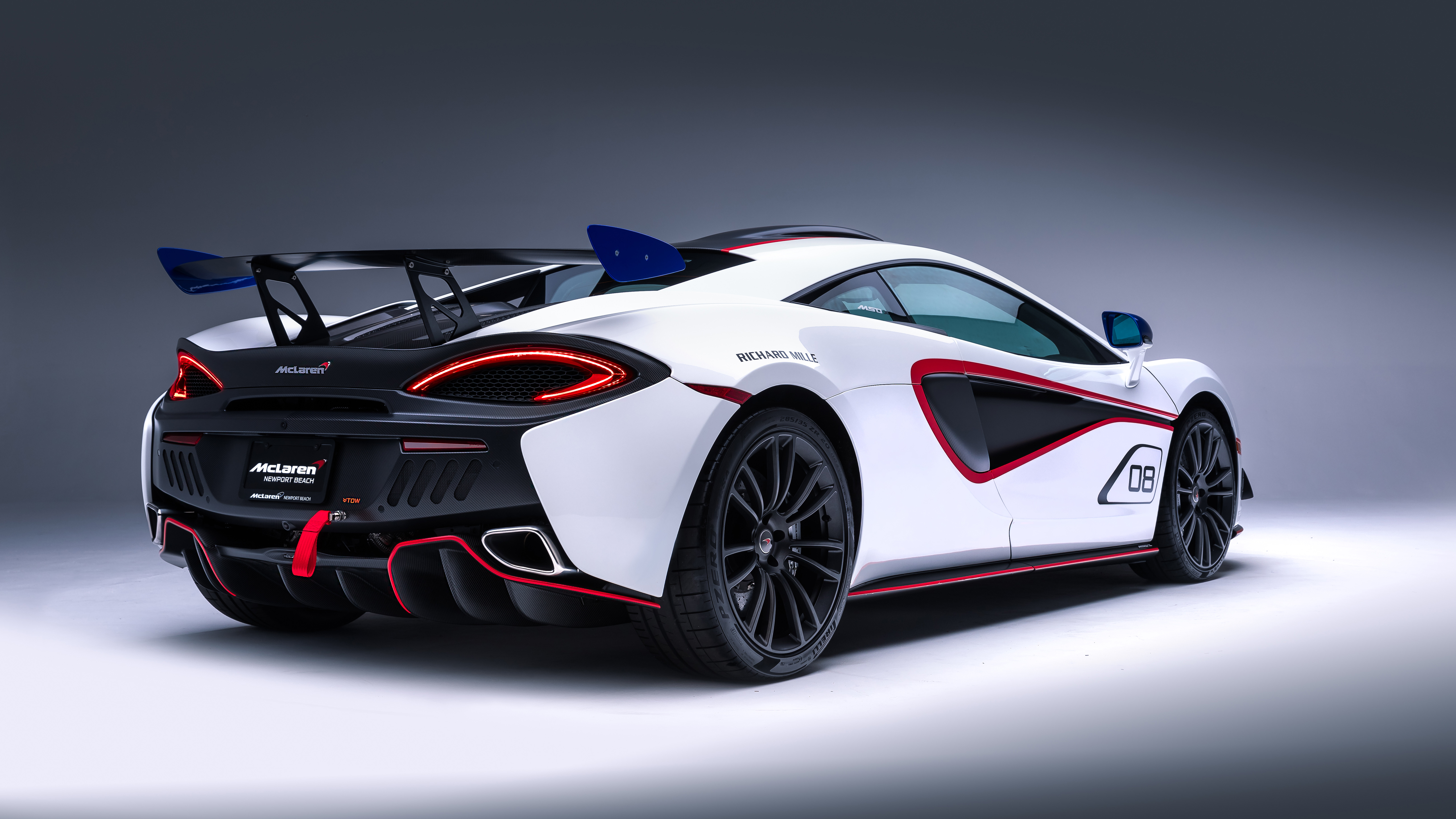 2018 Mclaren Mso X White Red 5k 3 Wallpaper Hd Car