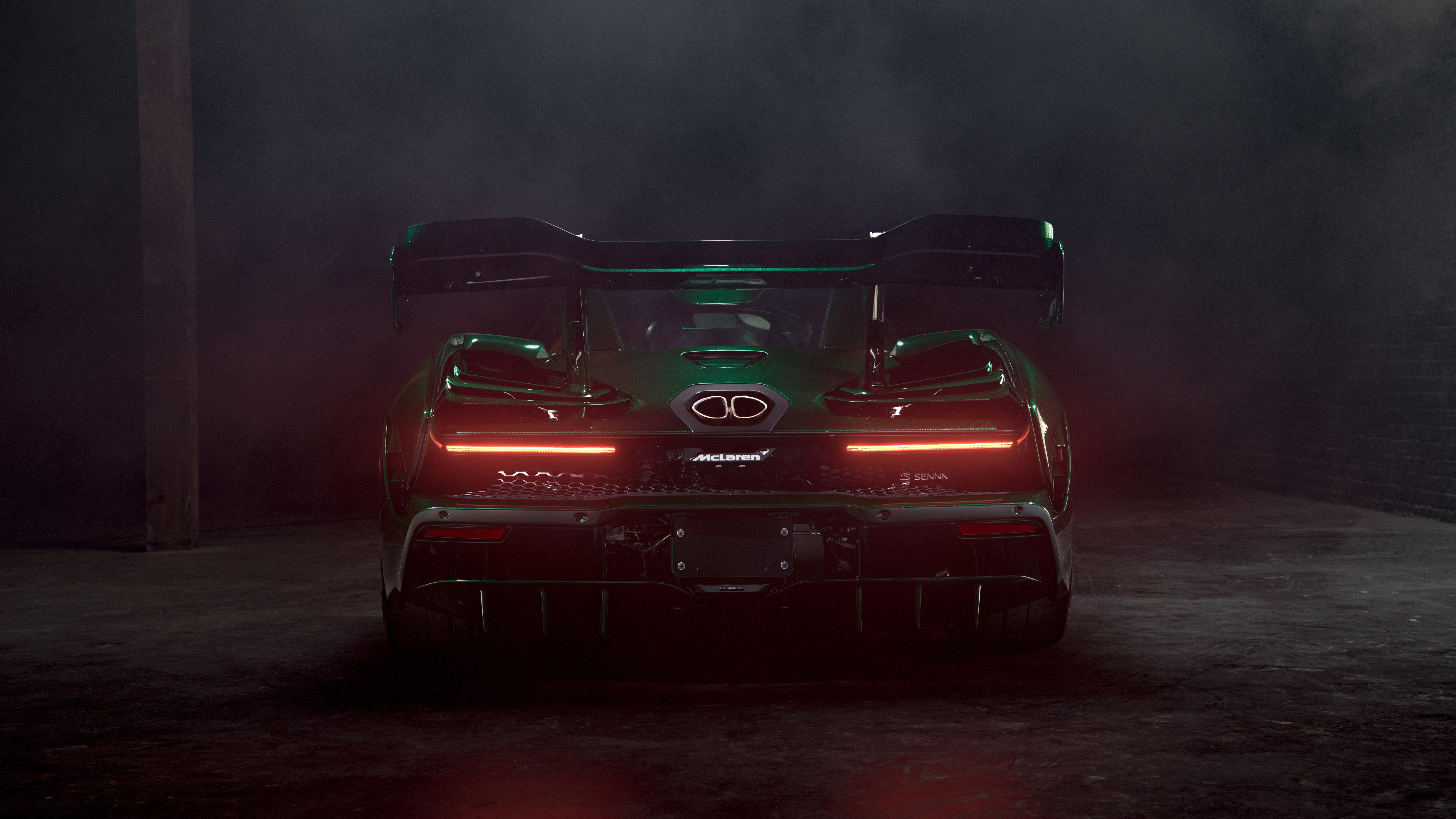 2018 McLaren Senna Emerald Green 4K 8K