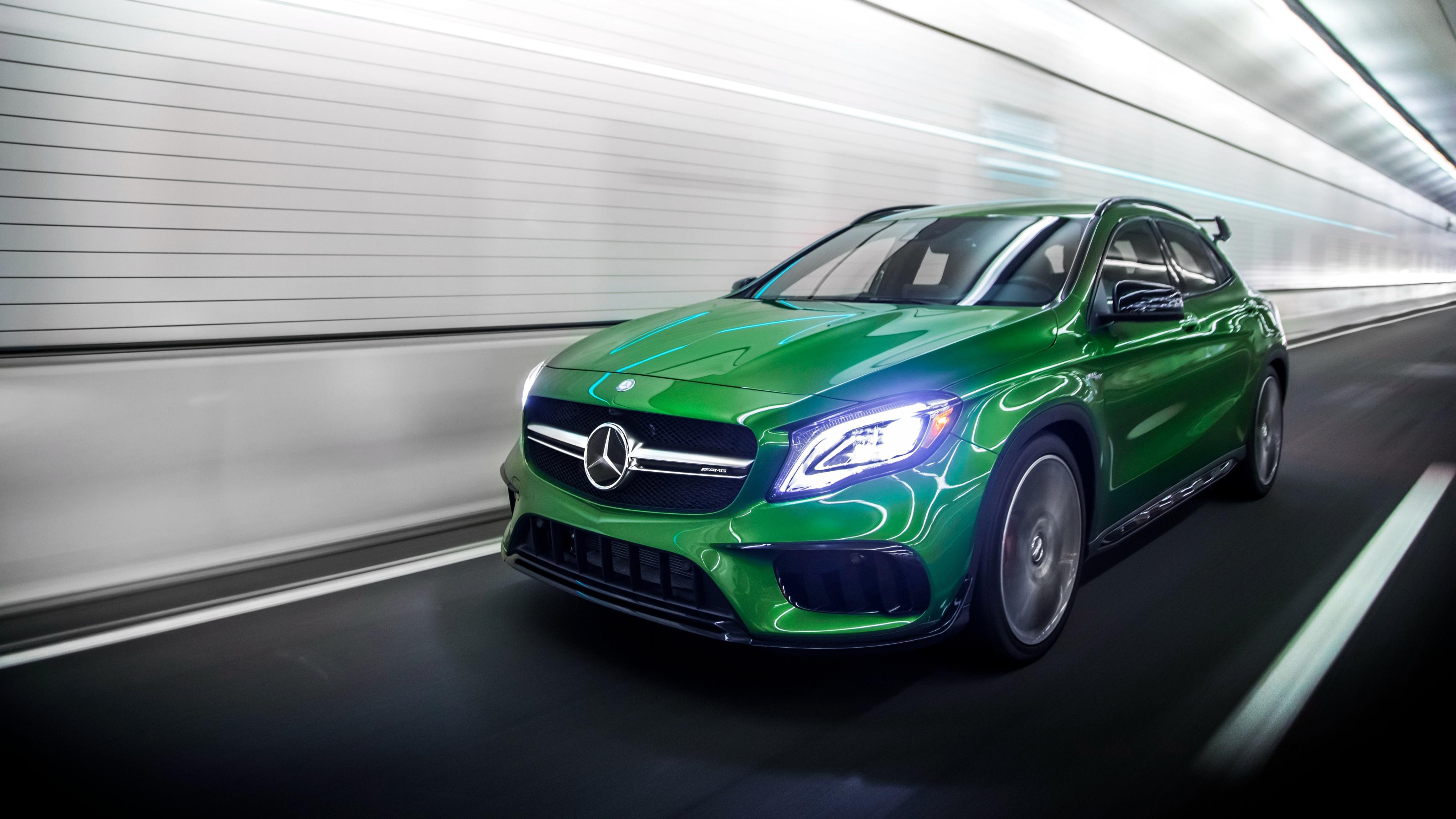 2018 Mercedes Amg Gla 45 4matic 4k 2 Wallpaper Hd Car Wallpapers Id 9345 2018 mercedes amg gla 45 4matic 4k