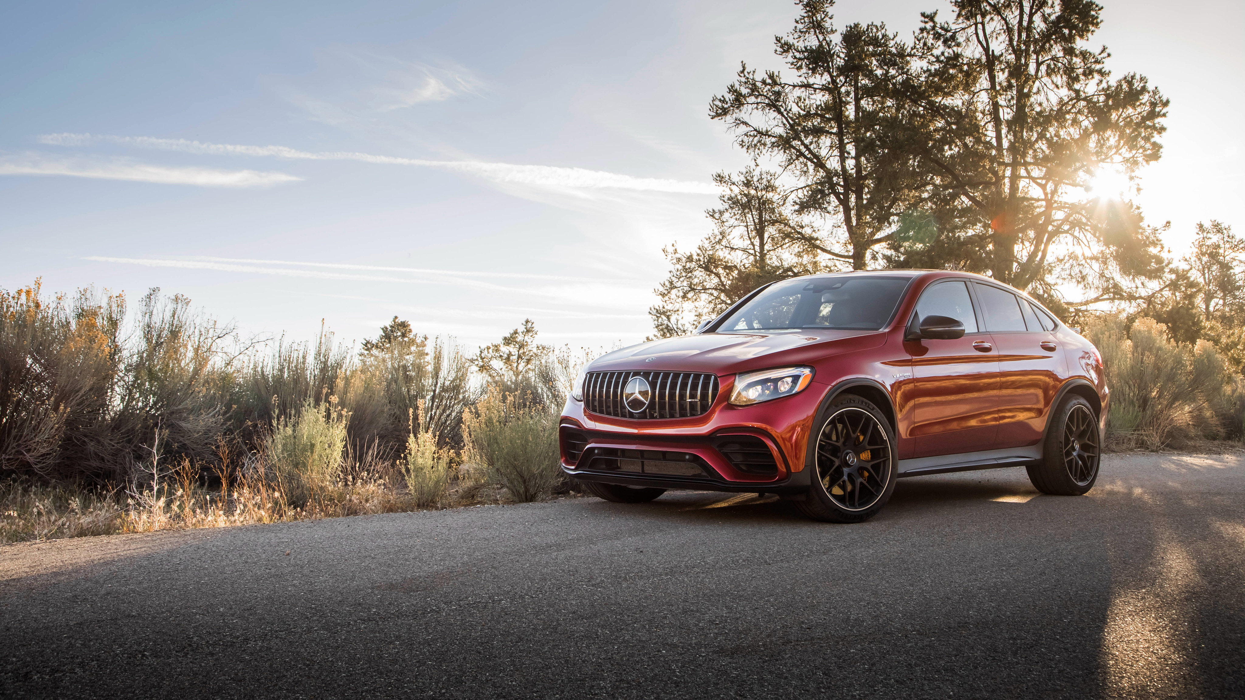 2018 Mercedes Amg Glc 63 S 4matic Coupe 4k Wallpaper Hd Car Wallpapers Id 10562