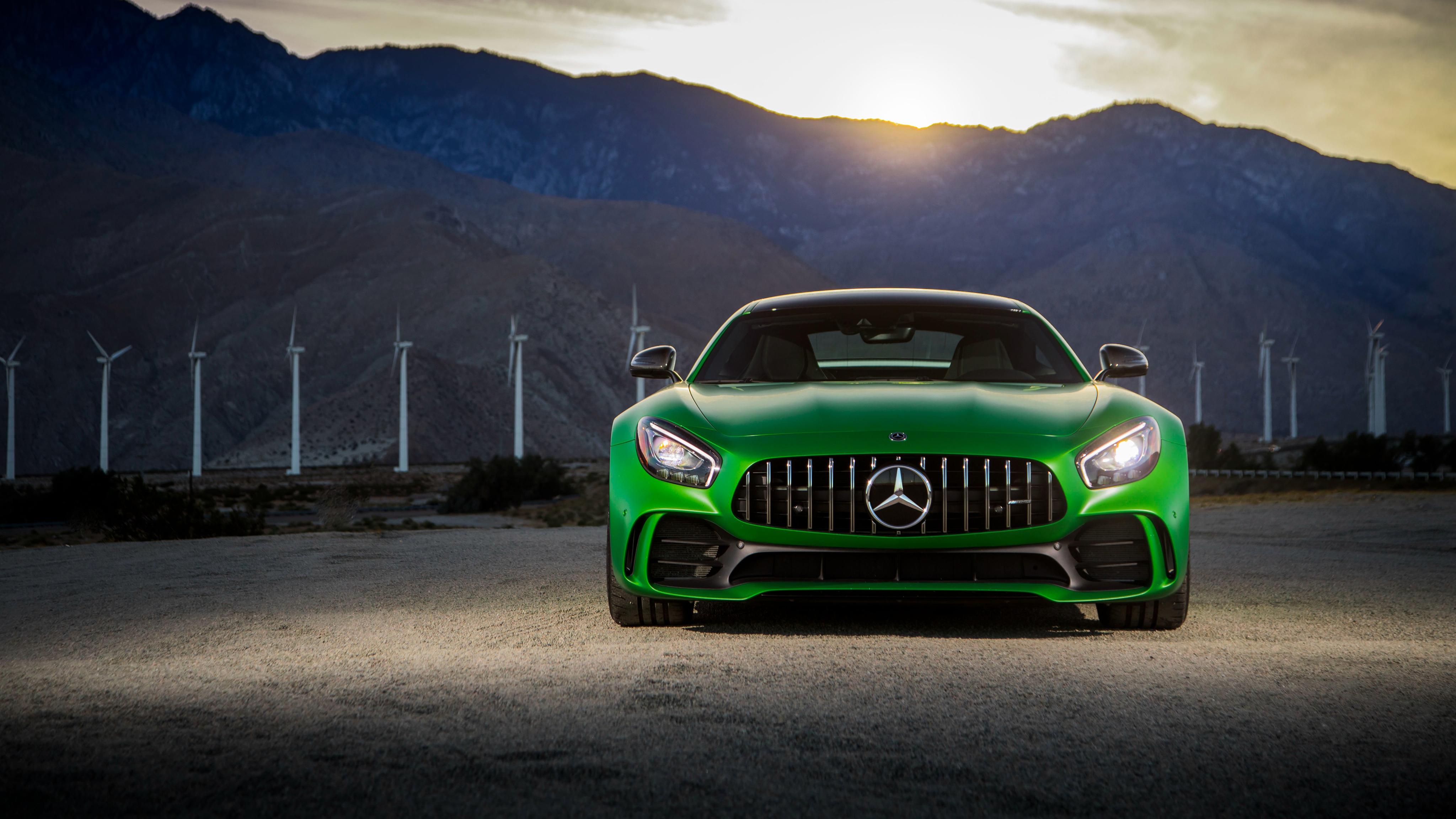 2018 Mercedes Amg Gt R 4k Wallpaper Hd Car Wallpapers
