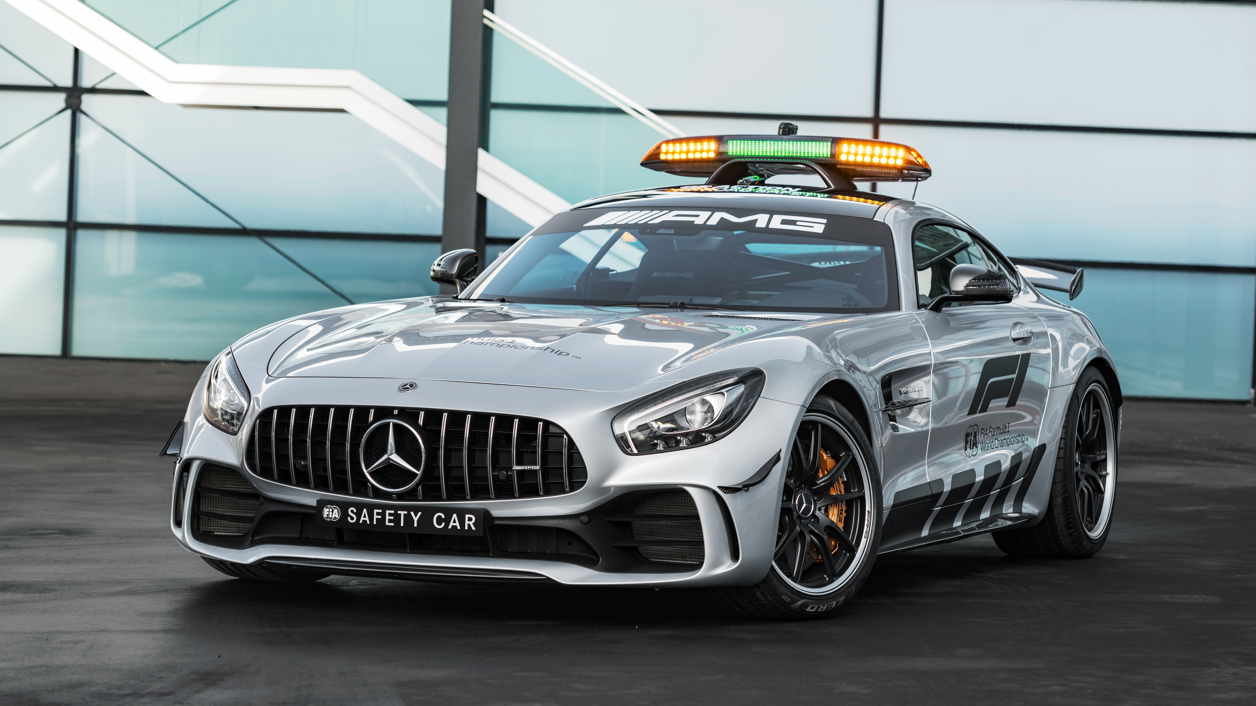 2018 mercedes amg gt r f1 safety car 4k wallpaper hd car wallpapers id 10013. Black Bedroom Furniture Sets. Home Design Ideas