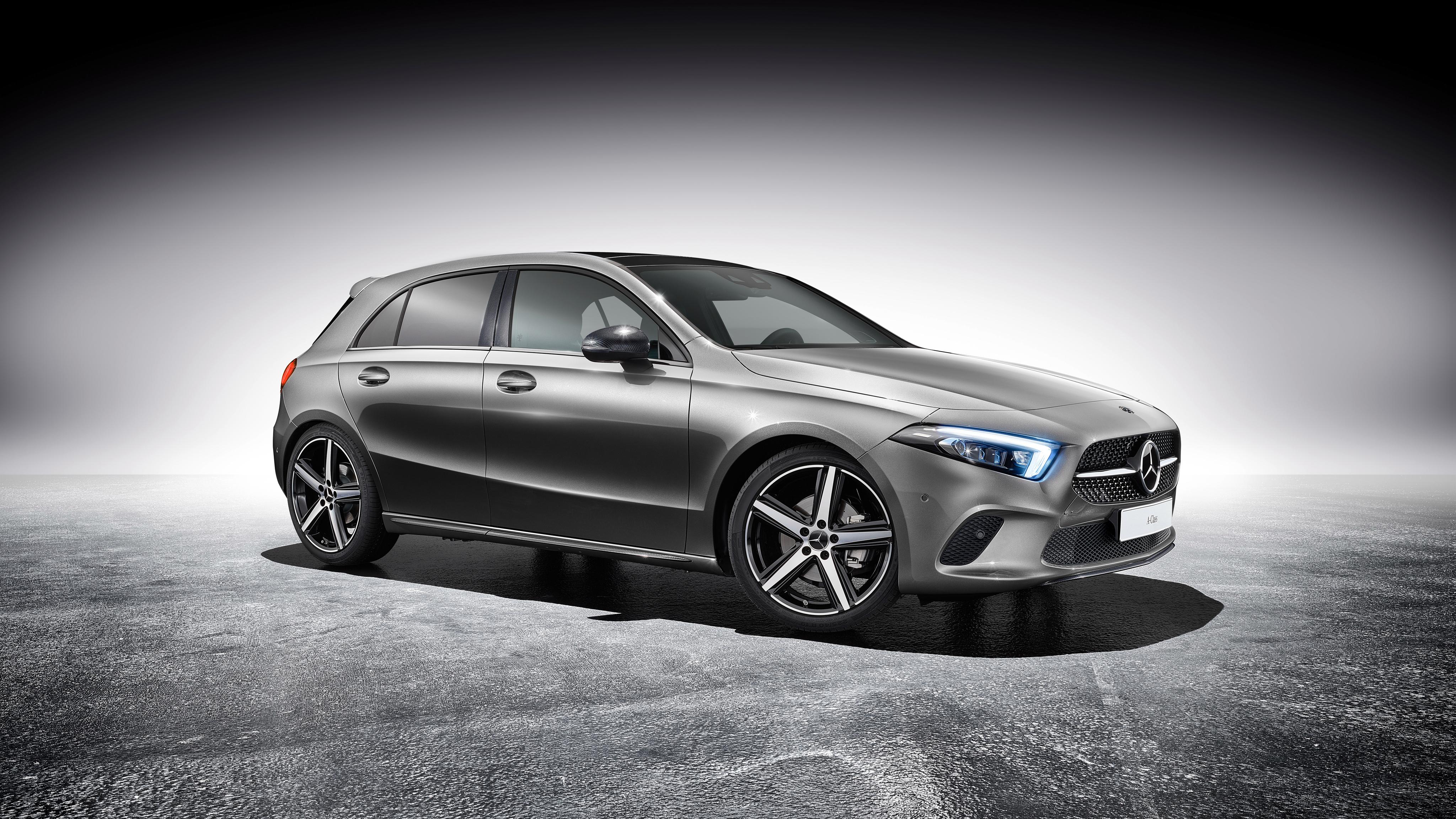 2018 Mercedes Benz A Klasse Sport Accessories 4K Wallpaper ...