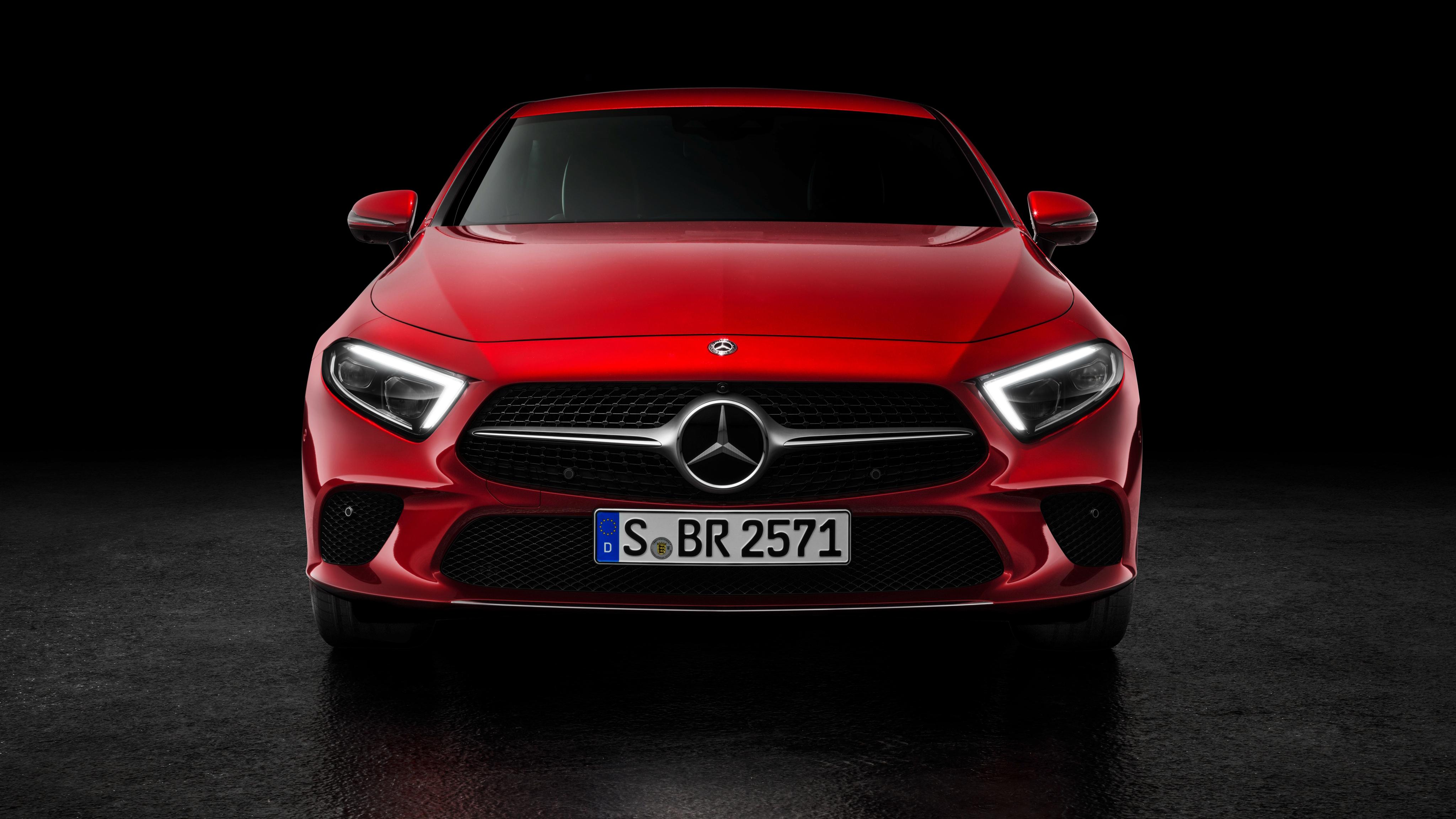 2018 mercedes benz cls 450 4k wallpaper hd car for Mercedes benz cl 450