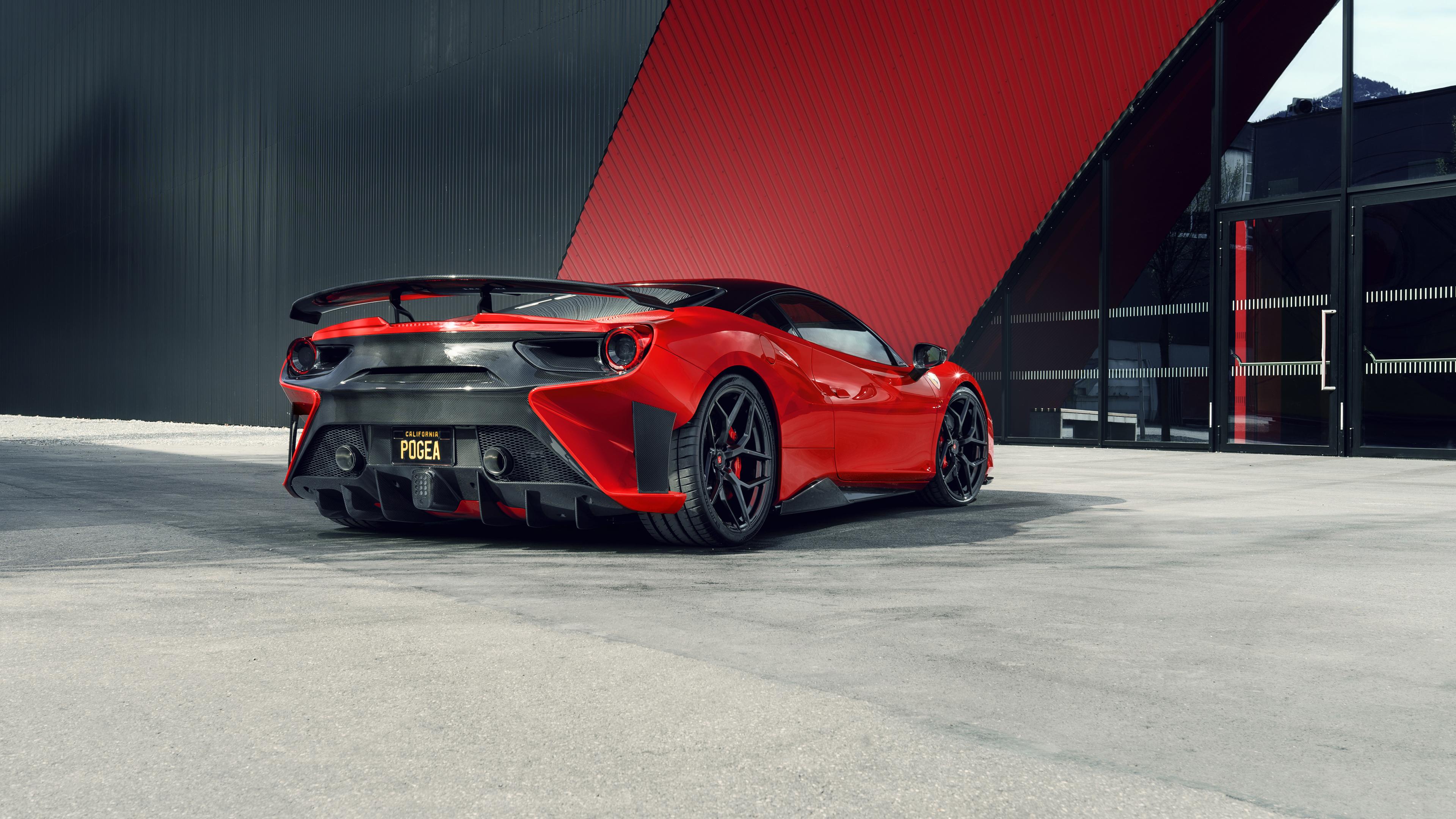 ferrari 4k 488 racing gtb pogea wallpapers fplus corsa ultra cars rear boost gives 1440 2560 1080 horsepower hdcarwallpapers resolutions