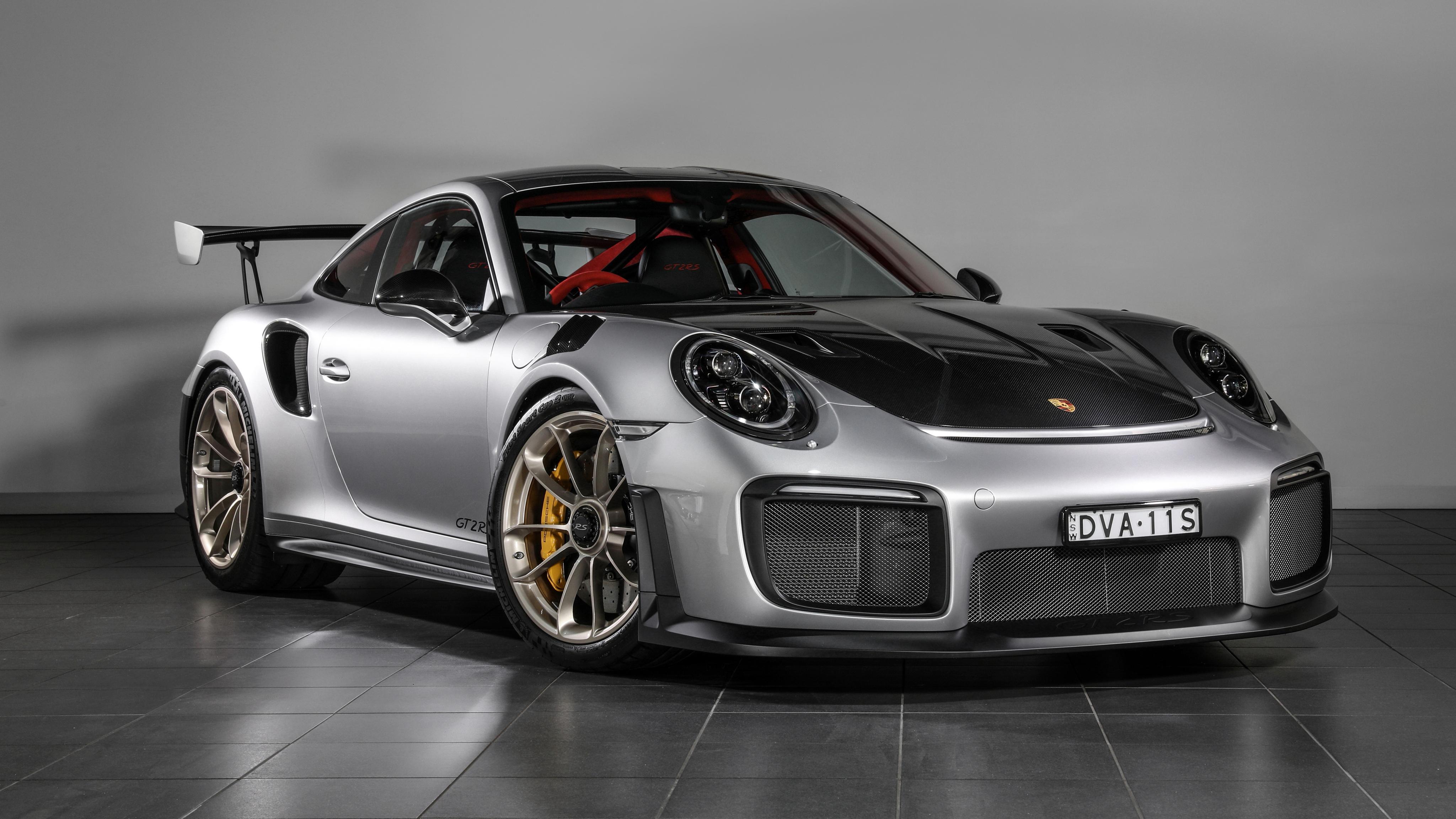 2018 Porsche 911 GT2 RS 4K