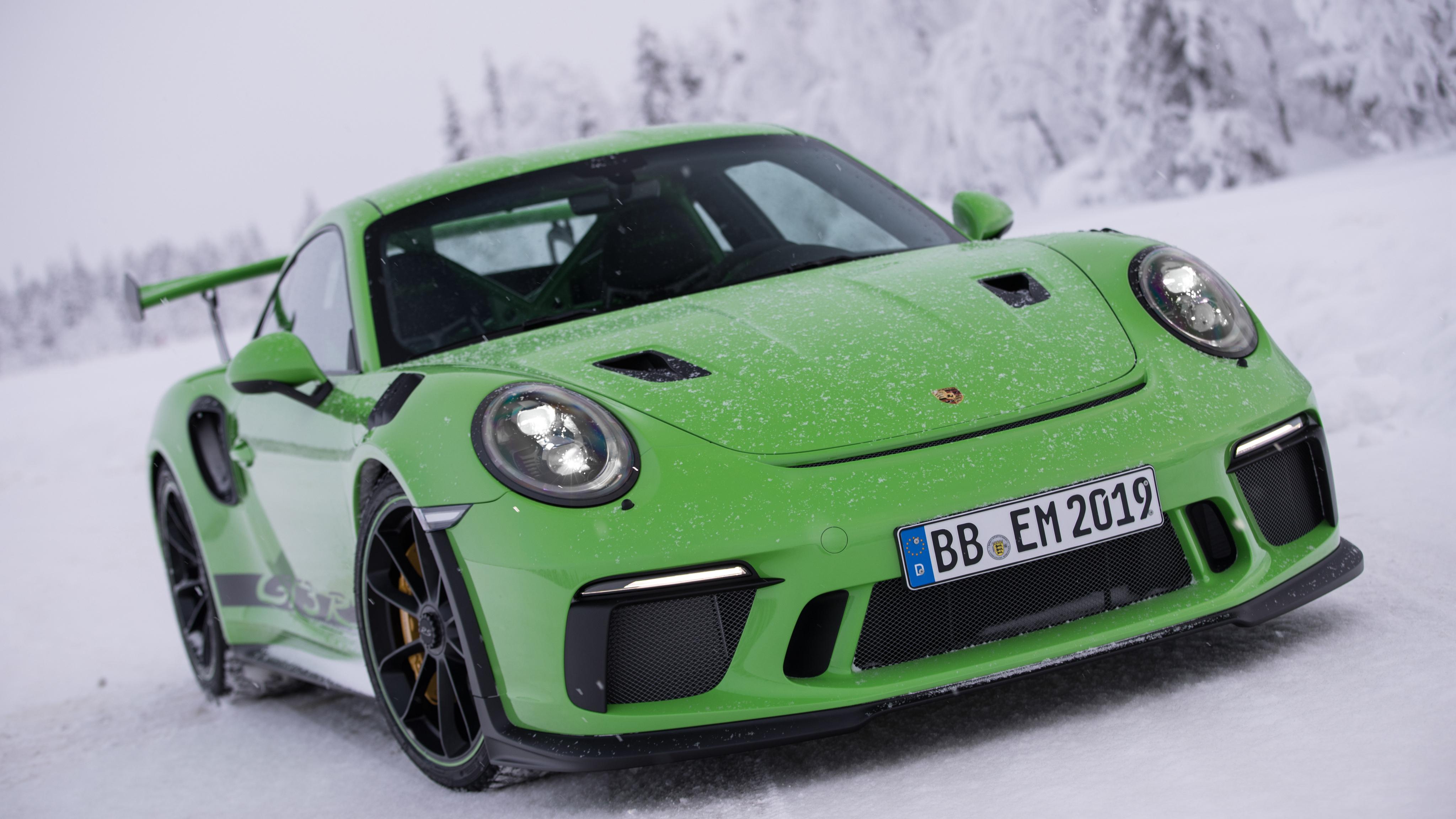 Porsche Gt3 Rs Blue 1920 X 1080: 2018 Porsche 911 GT3 RS 4K Wallpaper