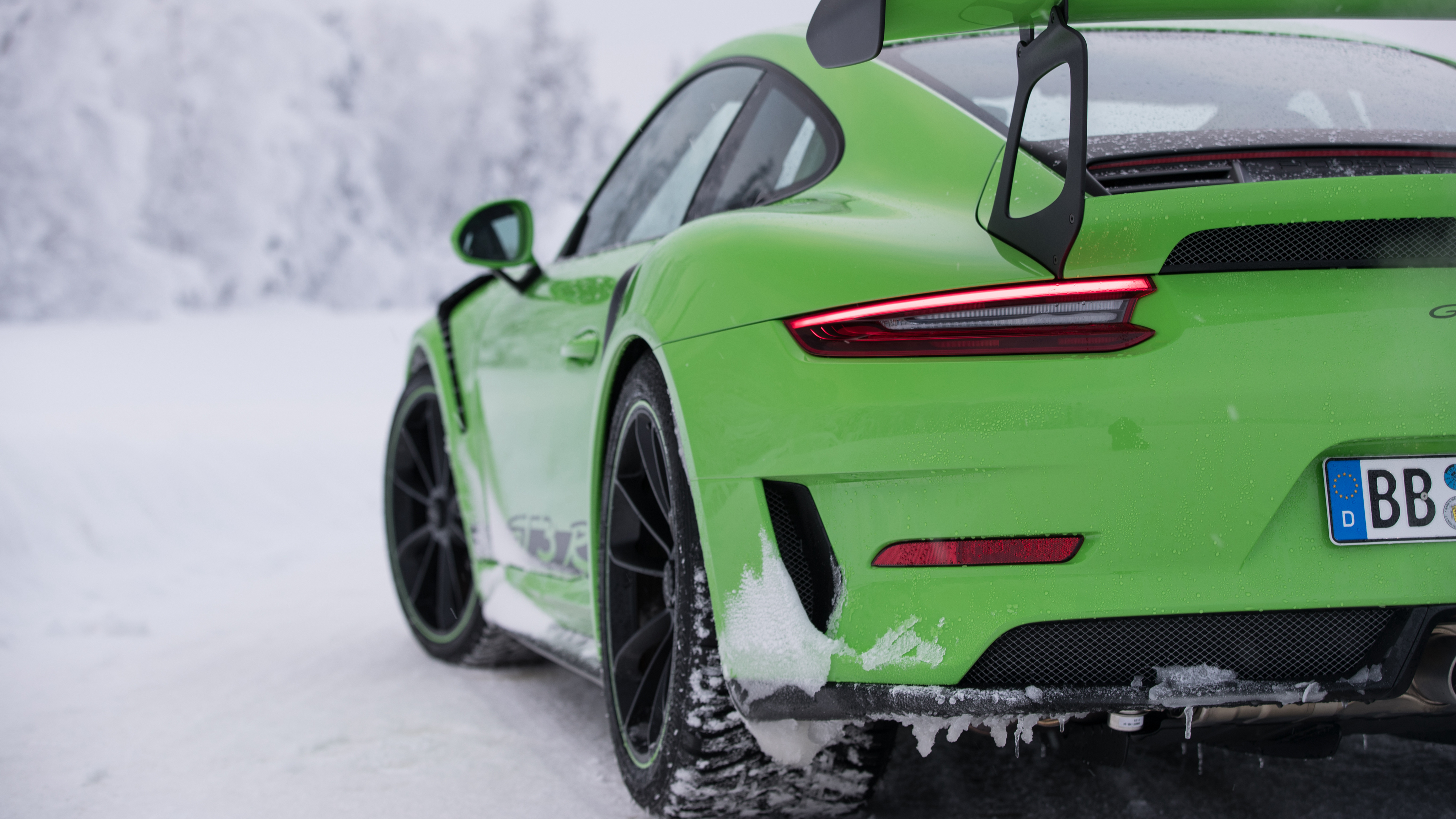 2018 Porsche 911 Gt3 Rs 4k 2 Wallpaper Hd Car Wallpapers Id 9665