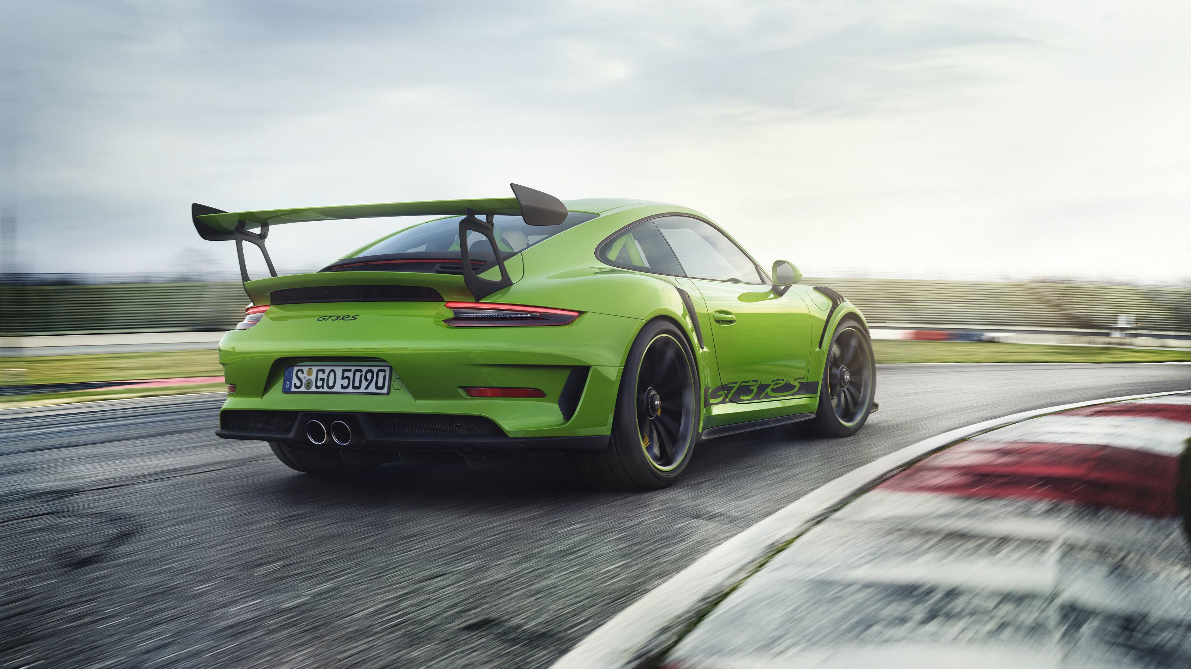 4k Porche Carrera Gt Wallpaper: 2018 Porsche 911 GT3 RS 4K 8 Wallpaper