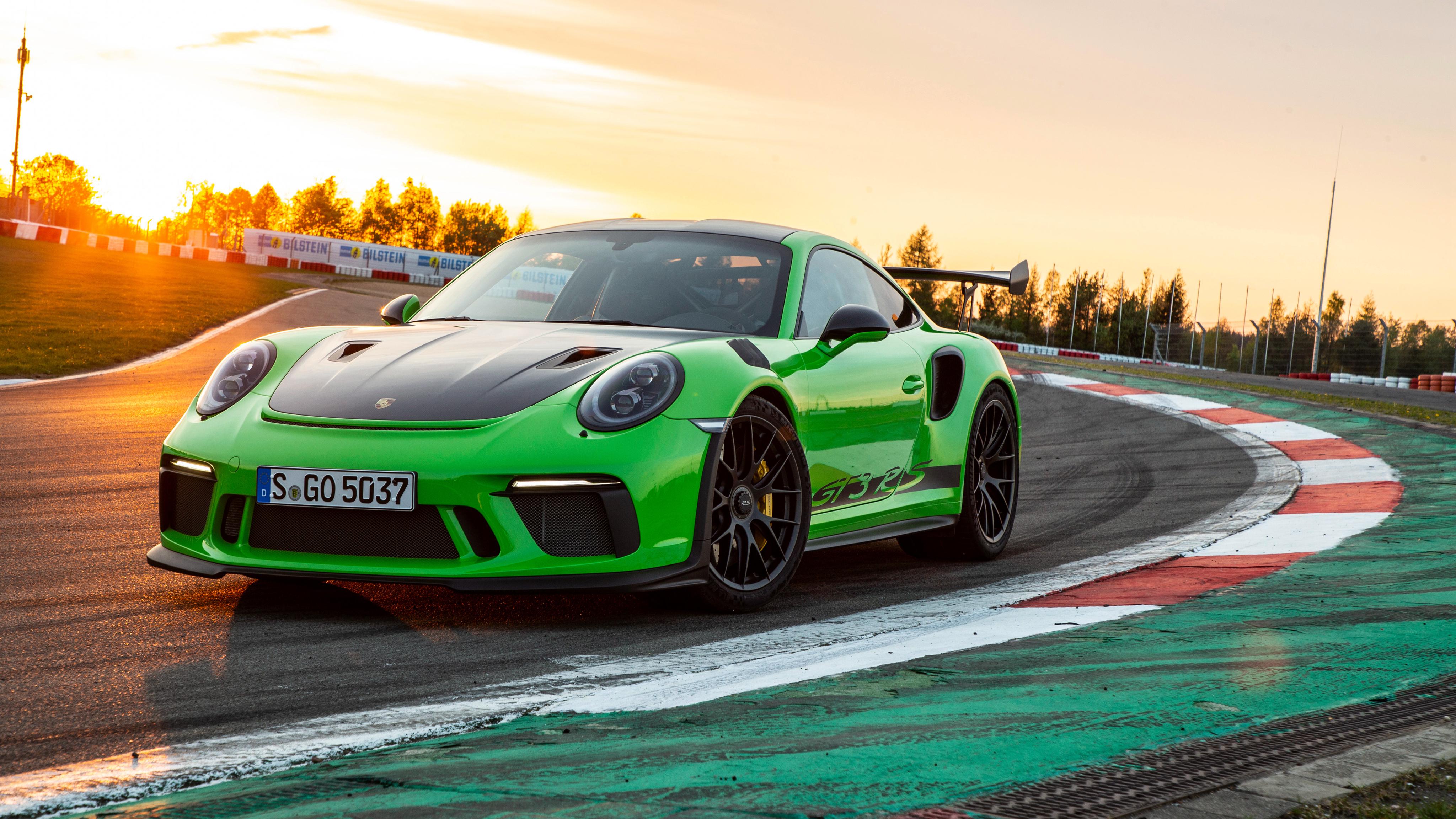 2018 Porsche 911 Gt3 Rs Weissach Package 4k Wallpaper Hd Car Wallpapers Id 10300