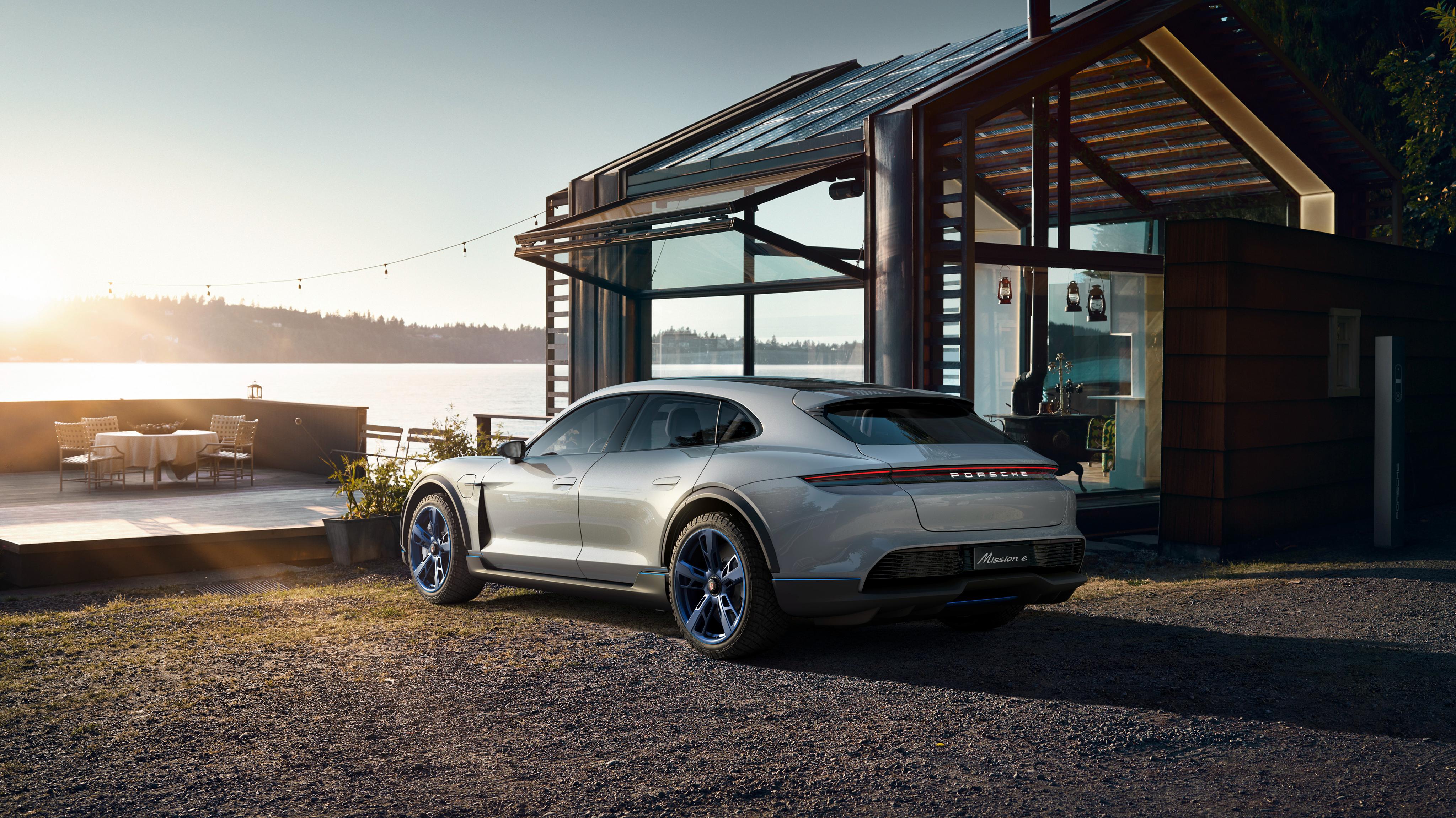 2018 Porsche Mission E Cross Turismo 4K 10 Wallpaper