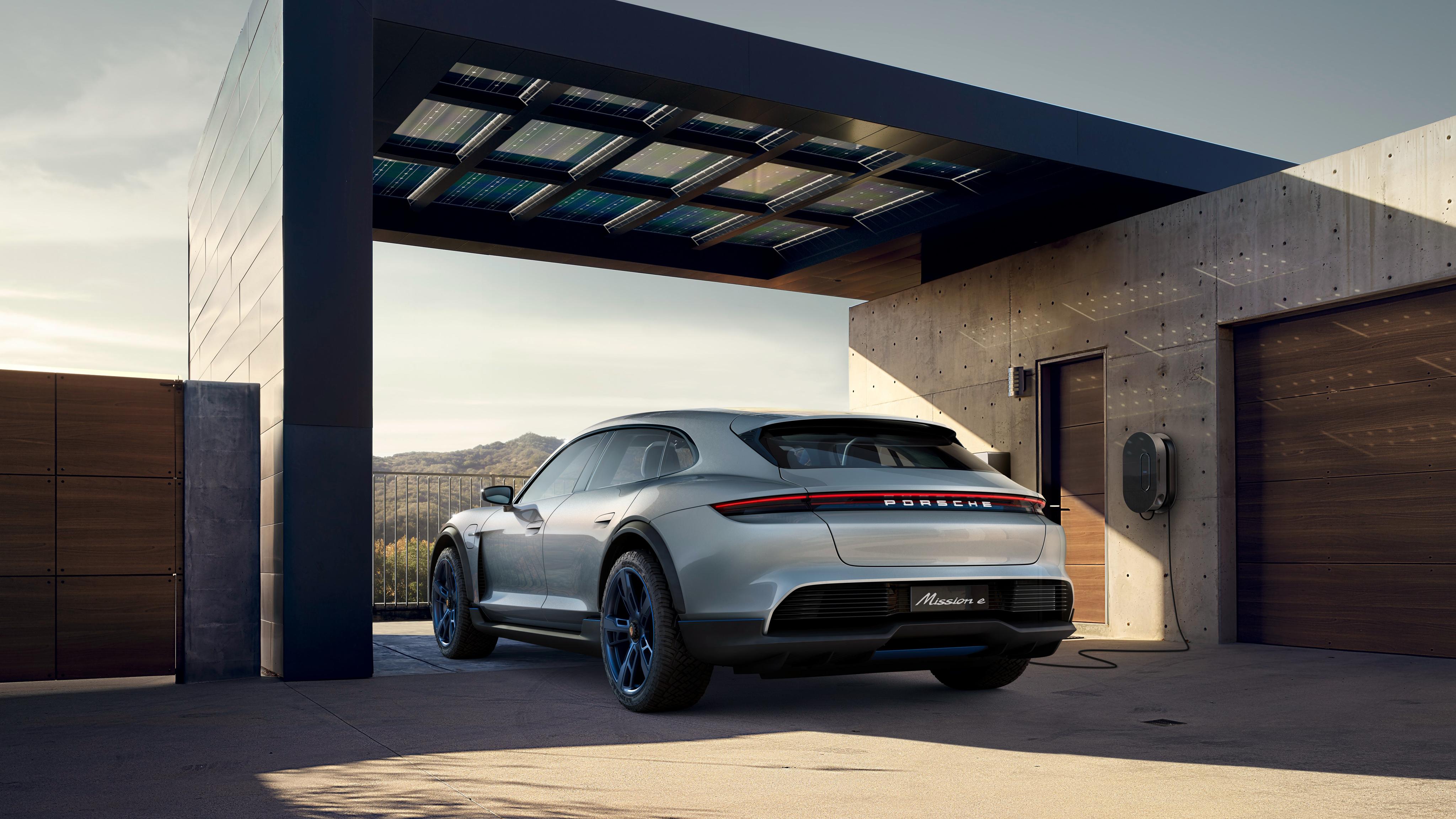 2018 Porsche Mission E Cross Turismo 4K 7 Wallpaper