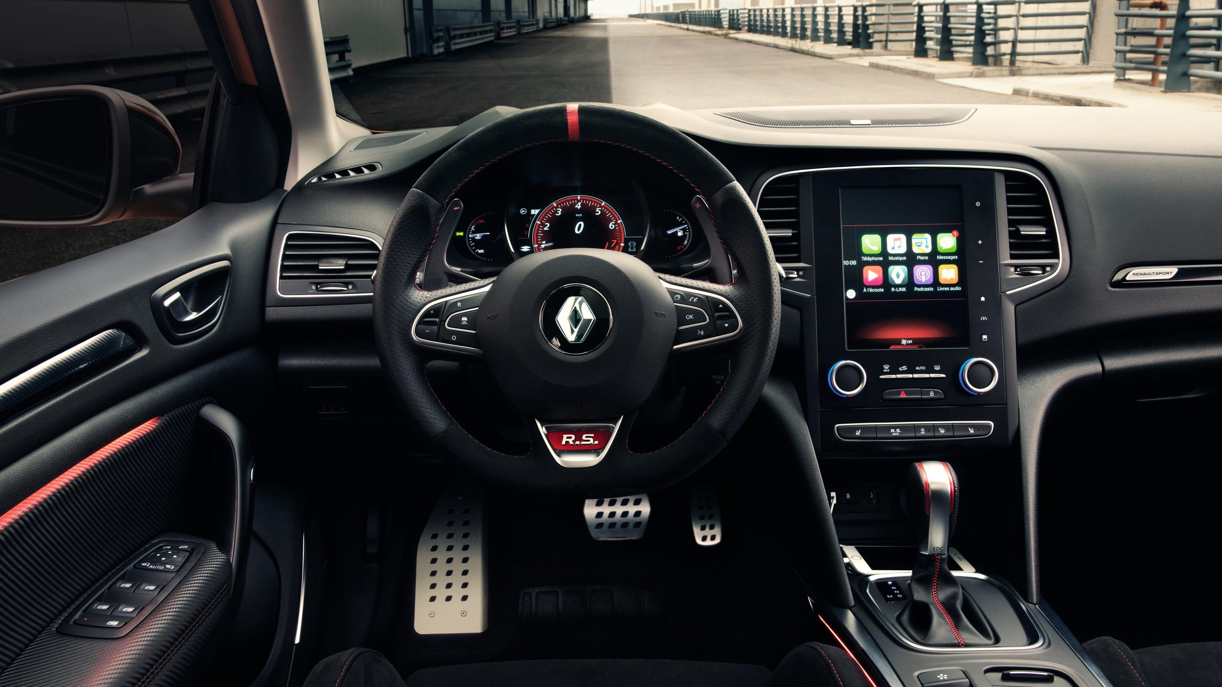 2018 Renault Megane Rs 4k Interior Wallpaper Hd Car Wallpapers Id 8489