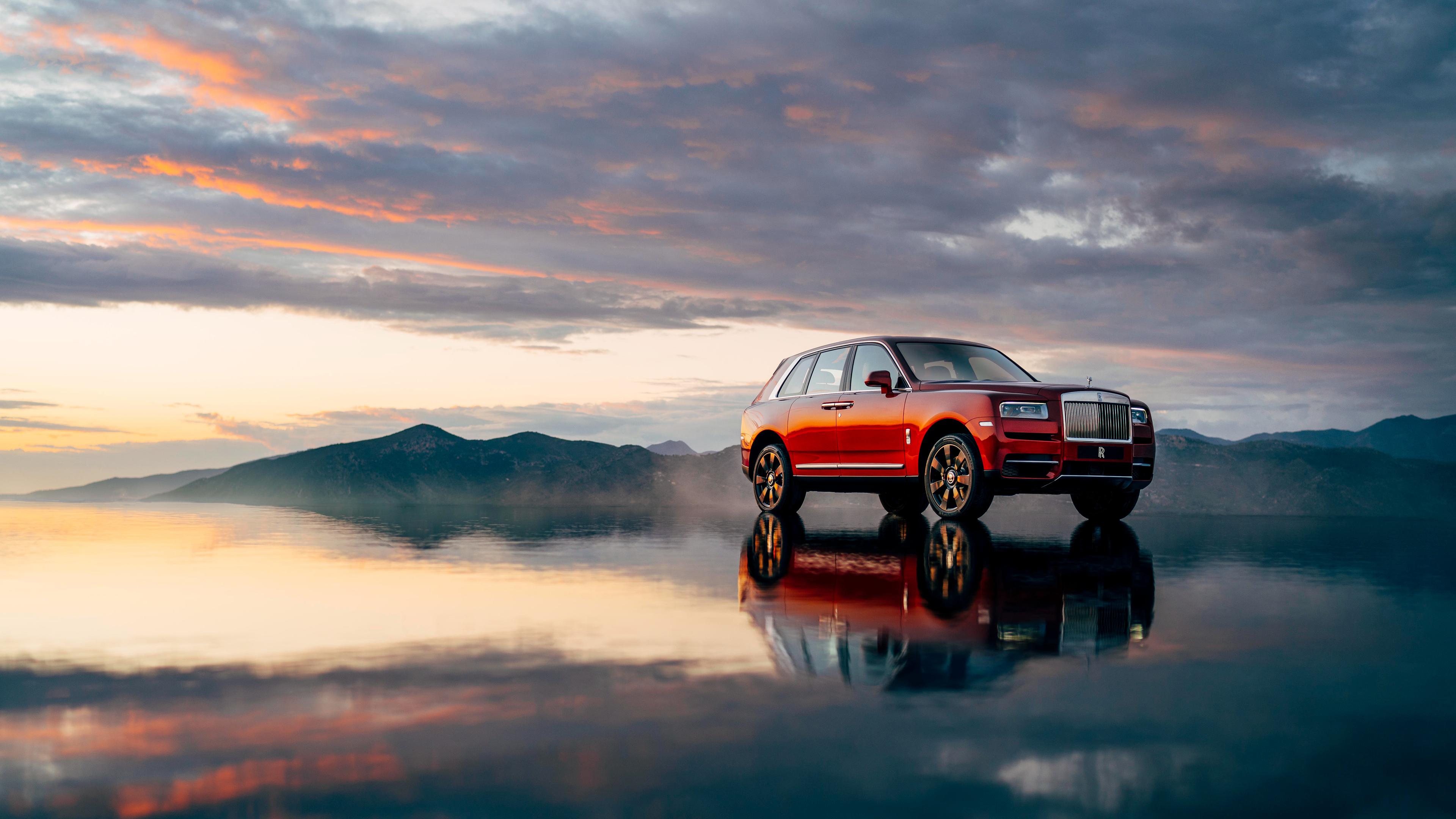 2018 Rolls Royce Cullinan 4k 6 Wallpaper Hd Car Wallpapers