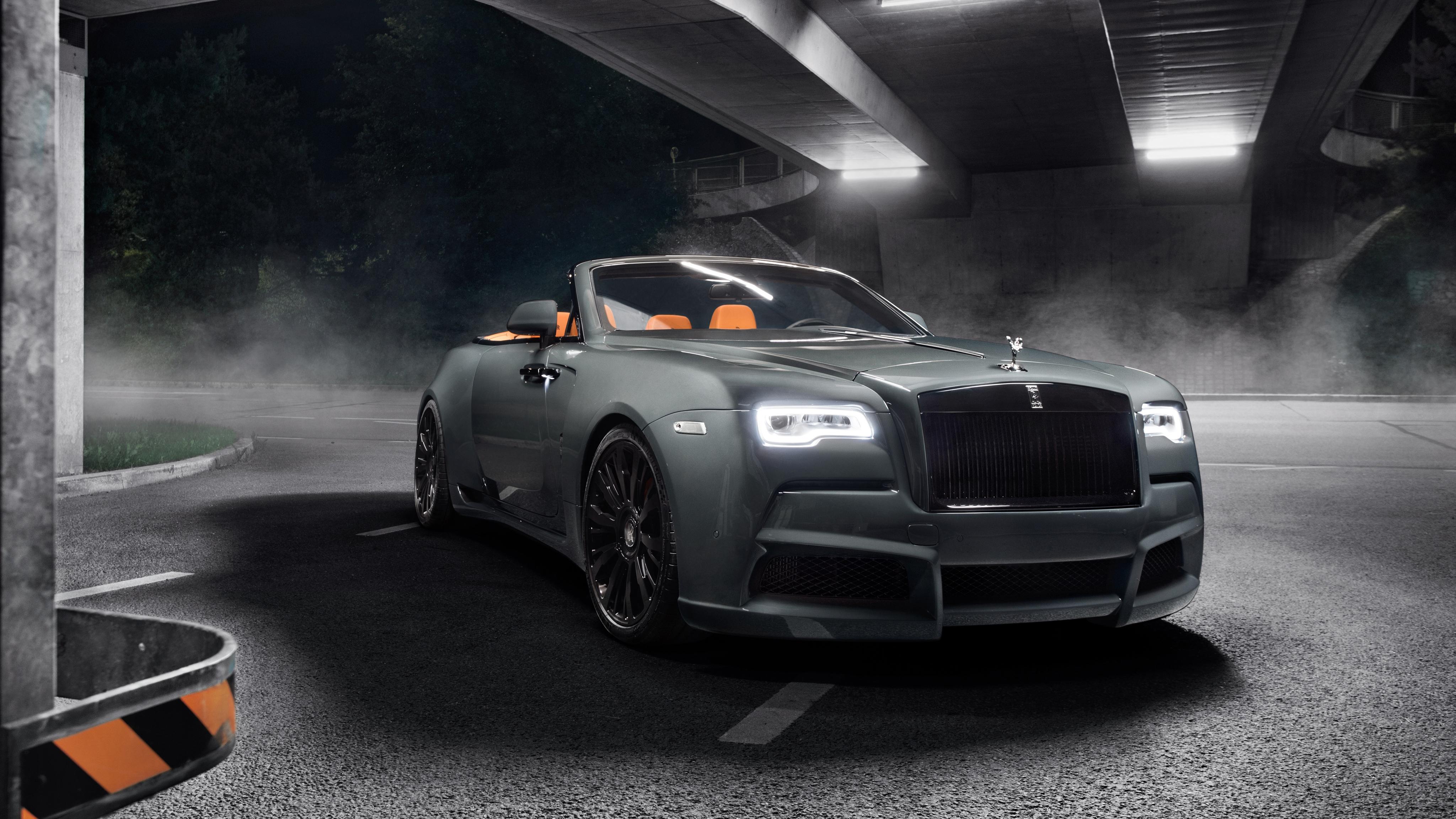 2018 Rolls Royce Dawn Overdose By Spofec 4k Wallpaper Hd