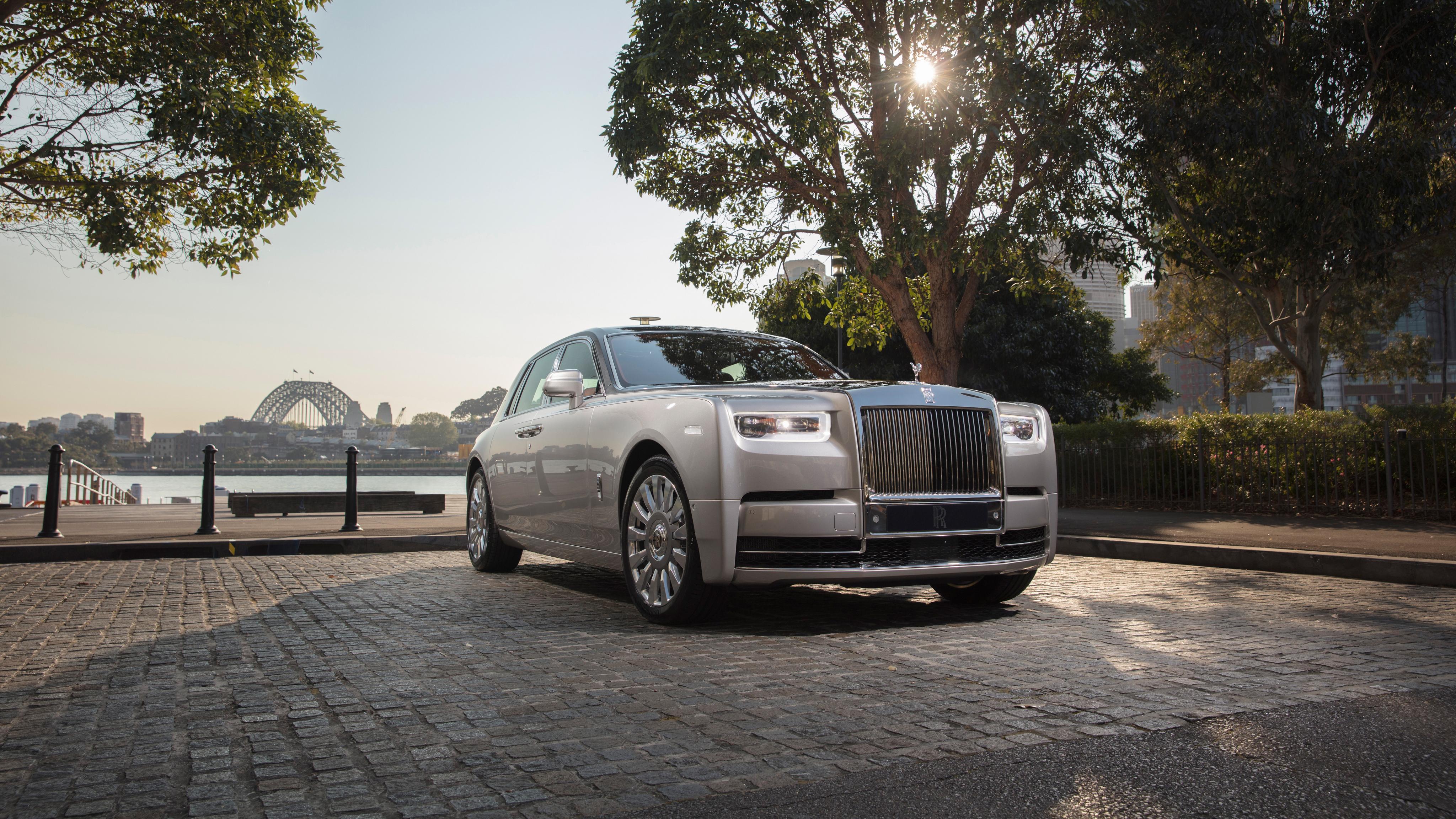 2018 Rolls Royce Phantom 4k 2 Wallpaper Hd Car Wallpapers Id 8756