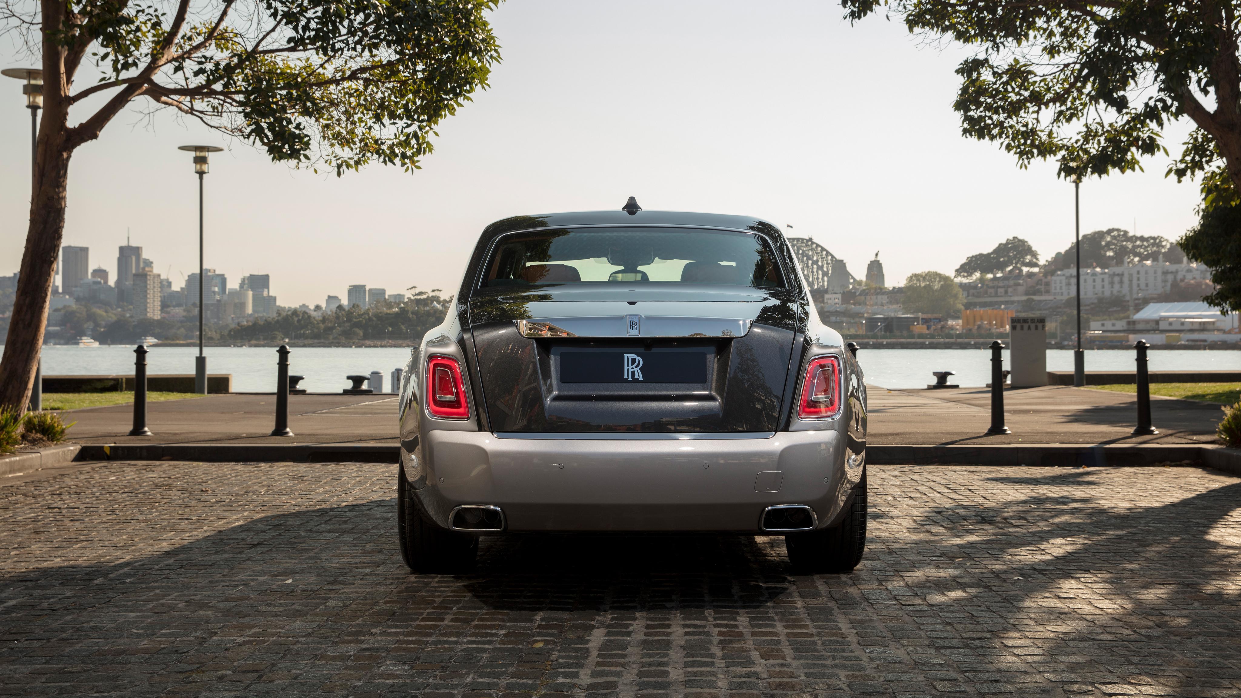 2018 Rolls Royce Phantom 4k Rear Wallpaper Hd Car Wallpapers Id