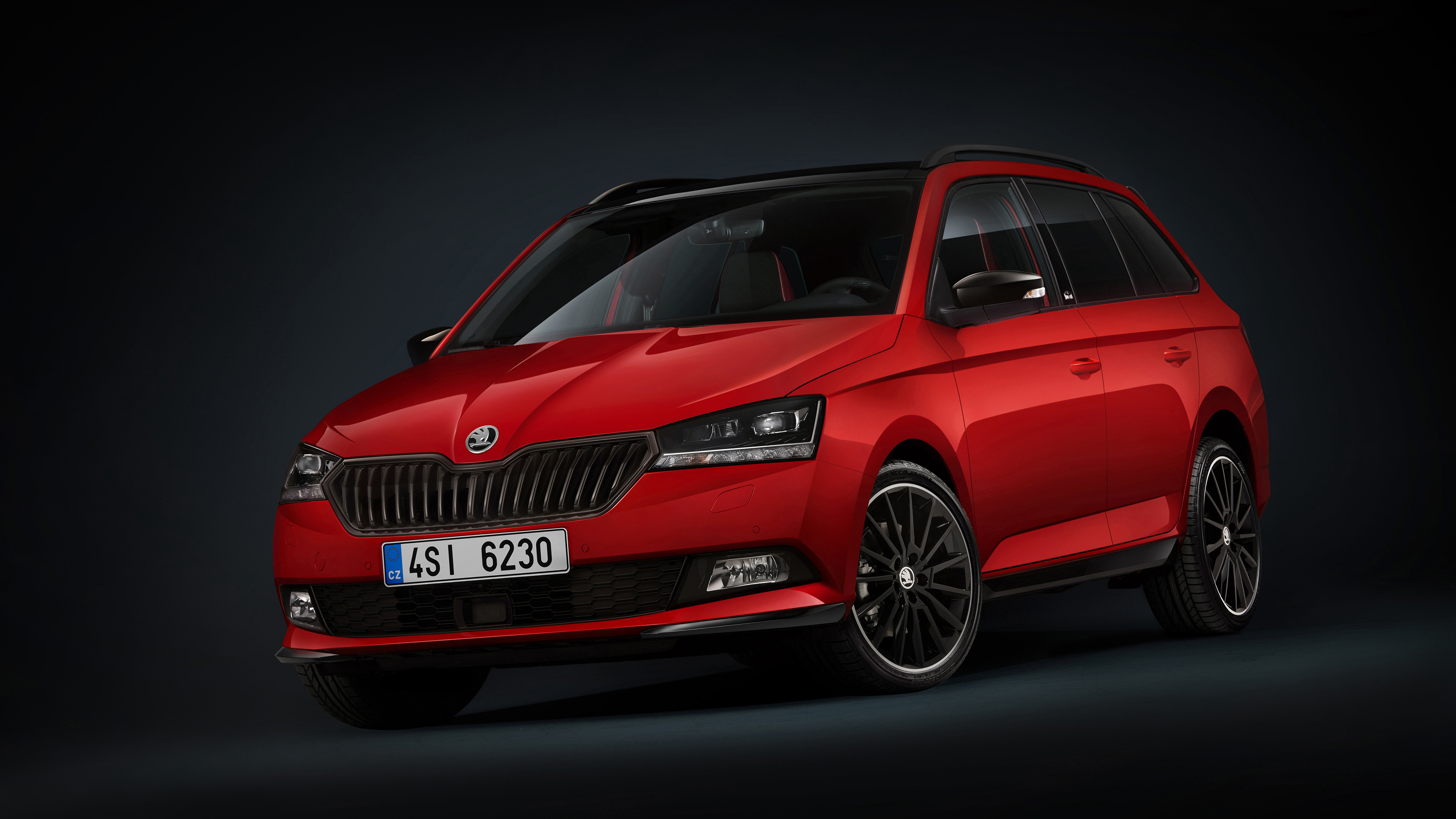 2018 skoda fabia combi monte carlo 4k wallpaper hd car. Black Bedroom Furniture Sets. Home Design Ideas