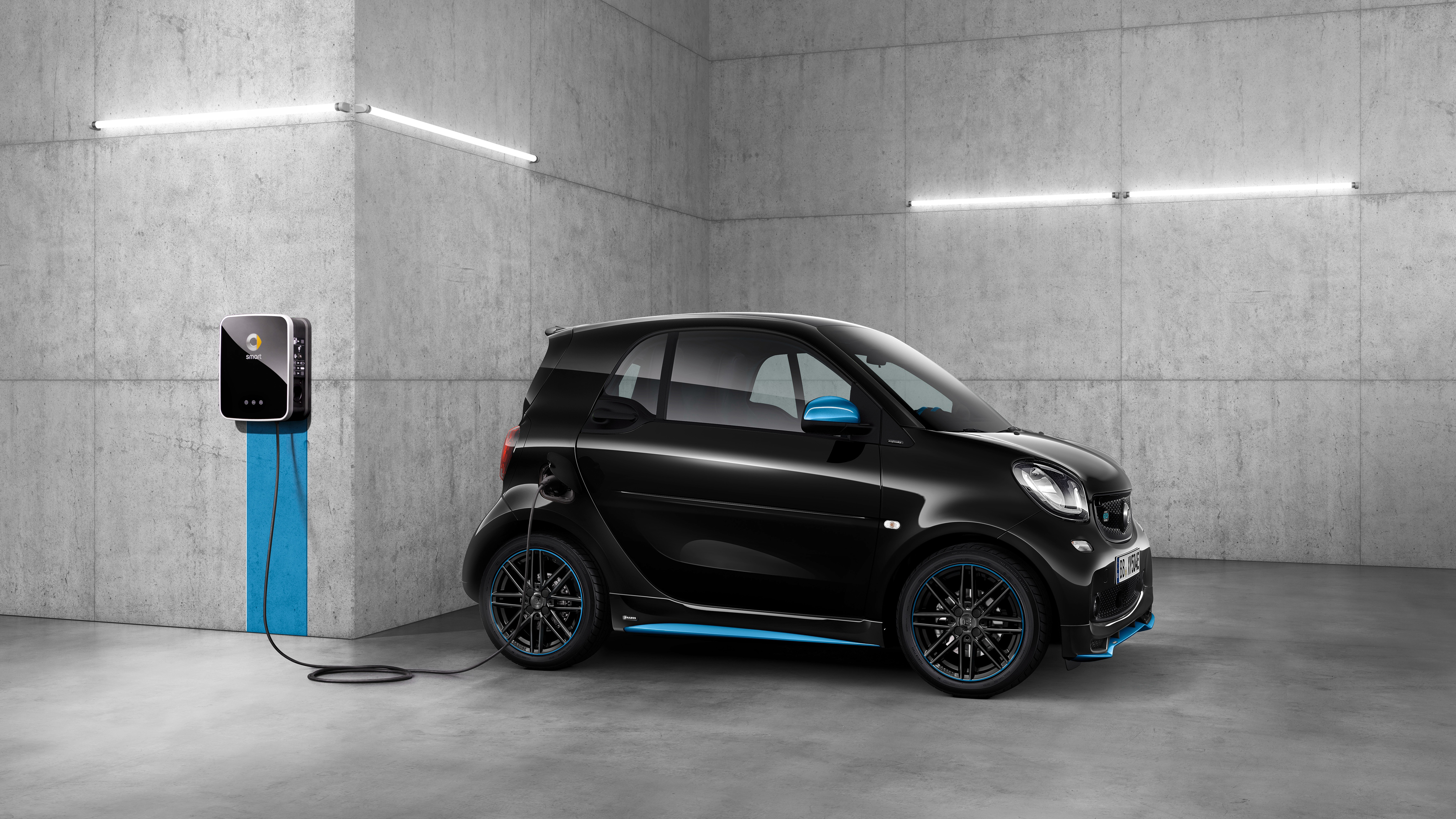 2018 smart EQ Fortwo Edition Nightsky Coupe 4K 3 Wallpaper