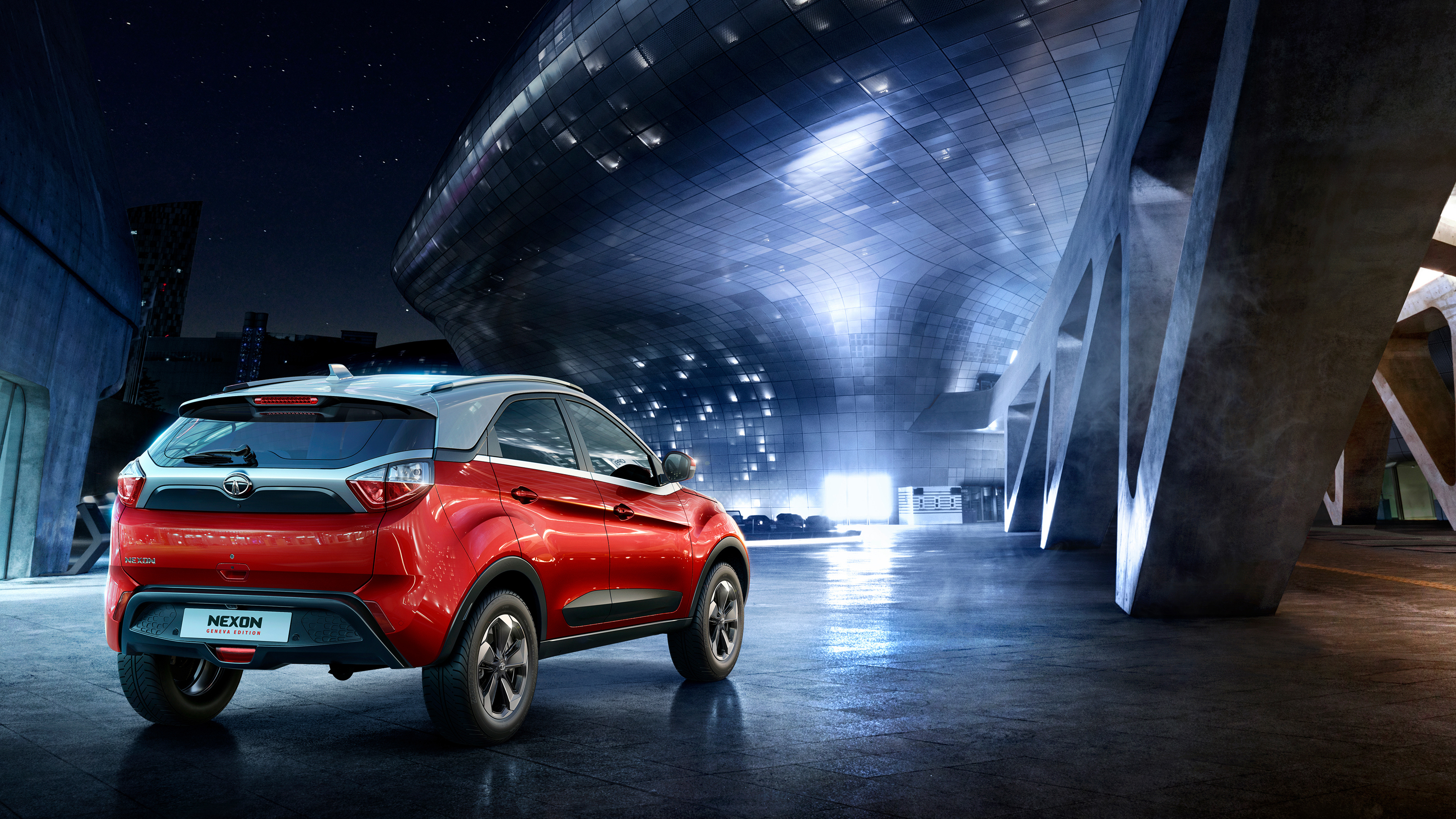 2018 tata nexon geneva edition 4k 2 wallpaper hd car - Wallpaper hd 4k car ...