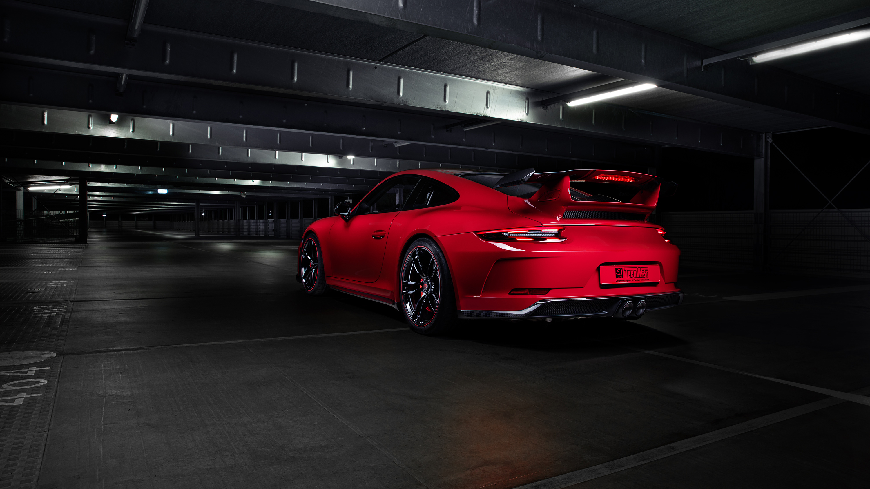 2018 Techart Porsche 911 Gt3 3 Wallpaper Hd Car
