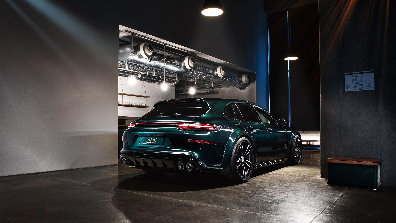 2018 Techart Porsche Panamera Sport Turismo Grand Gt 2