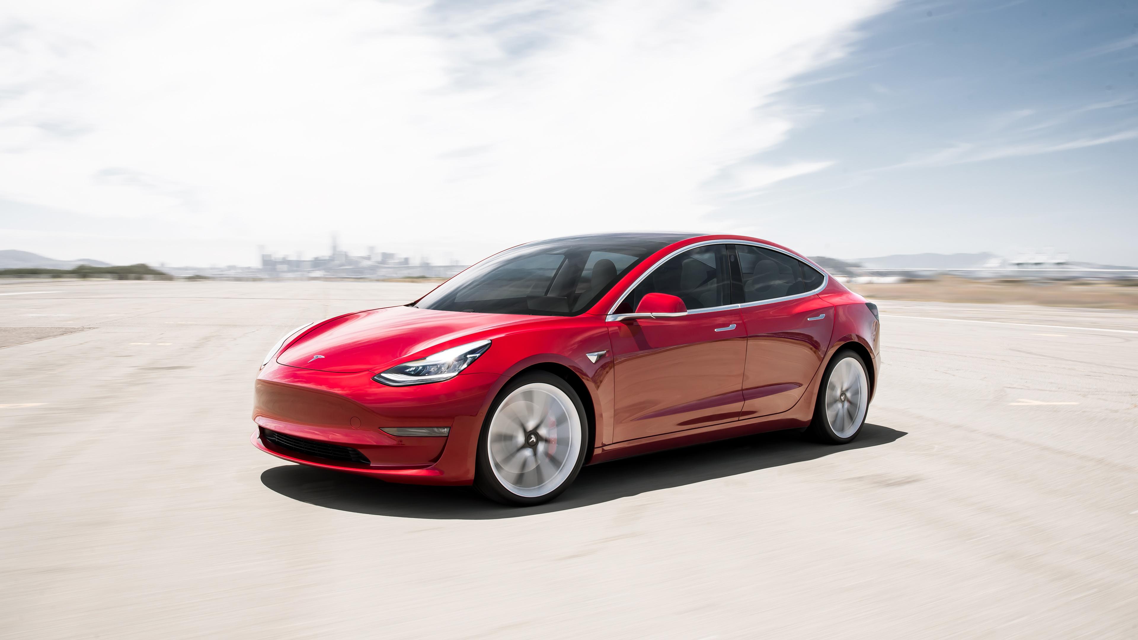 2018 tesla model 3 4k 2 wallpaper hd car wallpapers id 11242 - Tesla wallpaper android ...